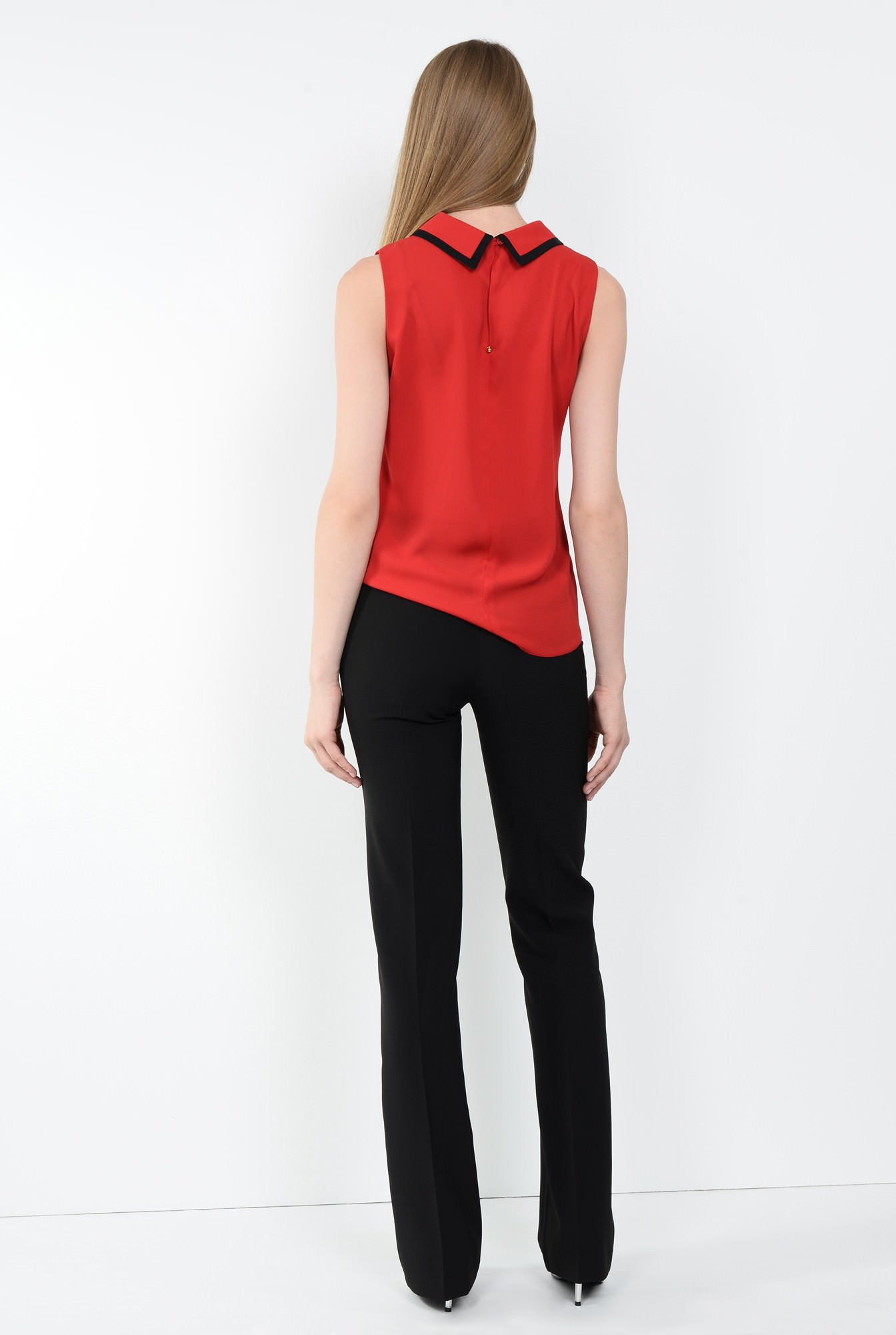 1 - BLUZA OFFICE BL 107-ROSU
