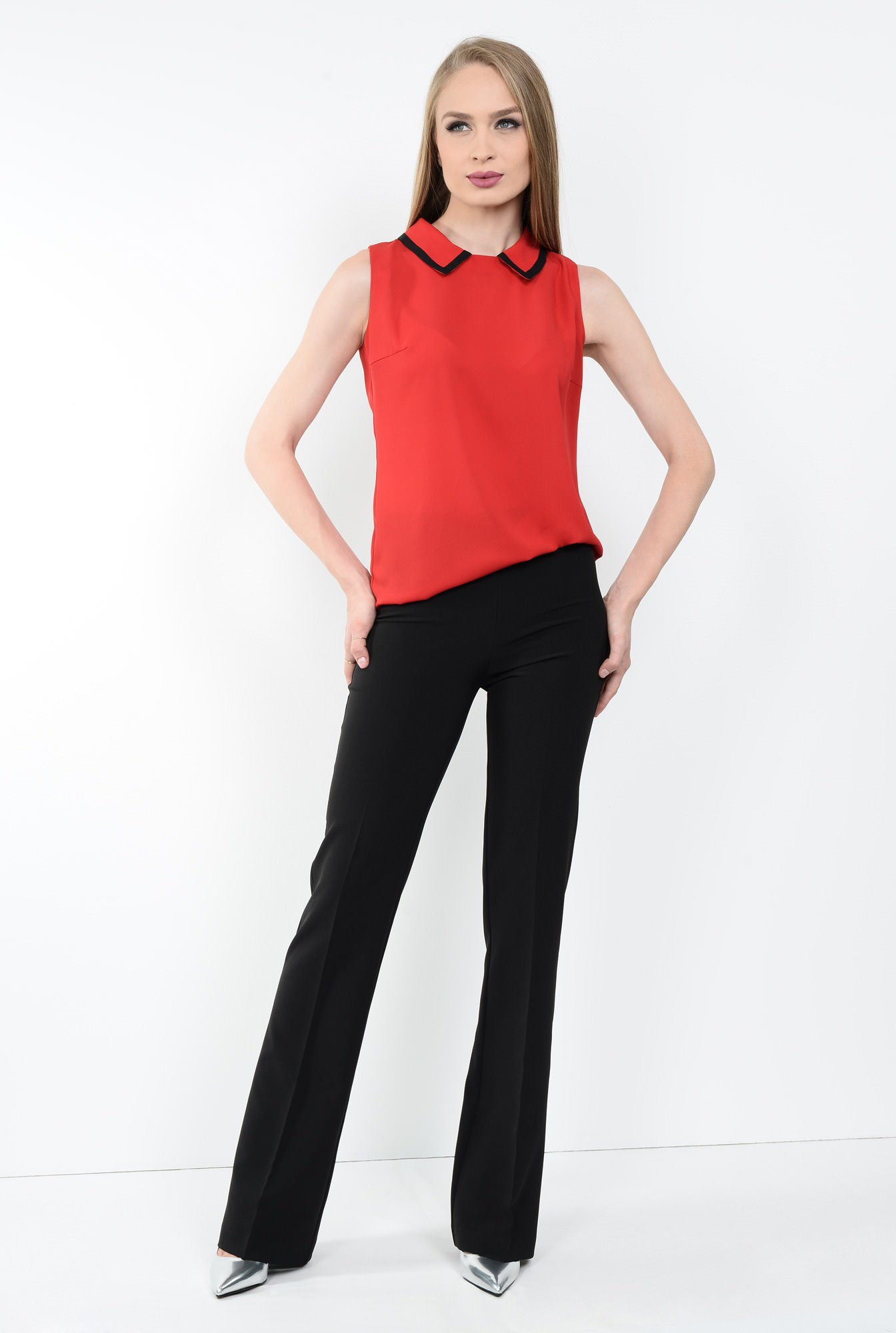 3 - BLUZA OFFICE BL 107-ROSU