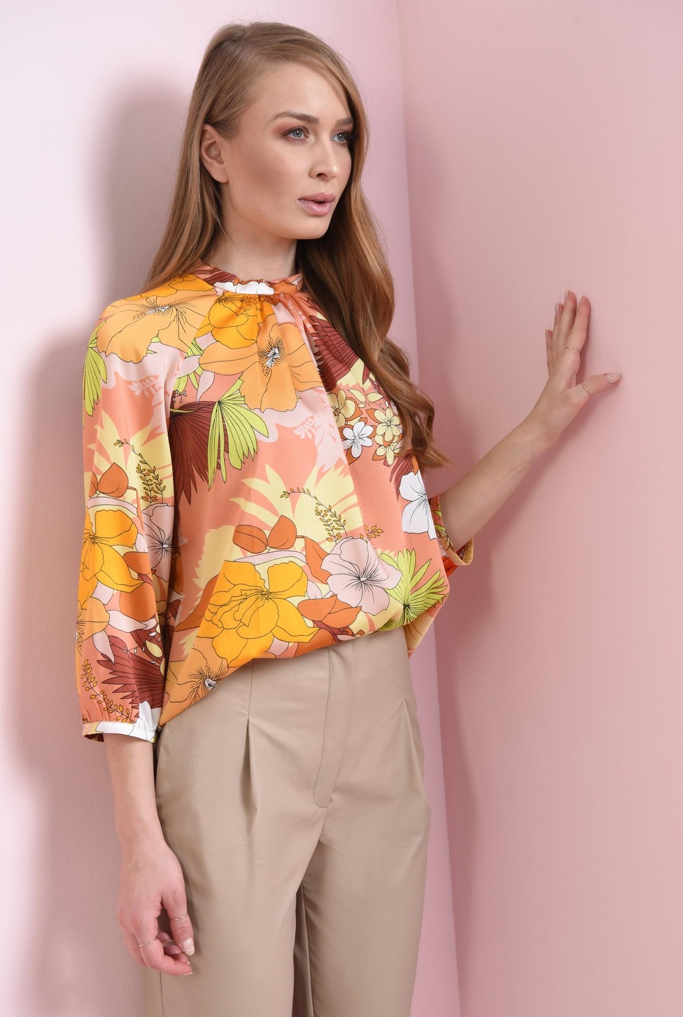 2 - bluza casual, cu imprimeu