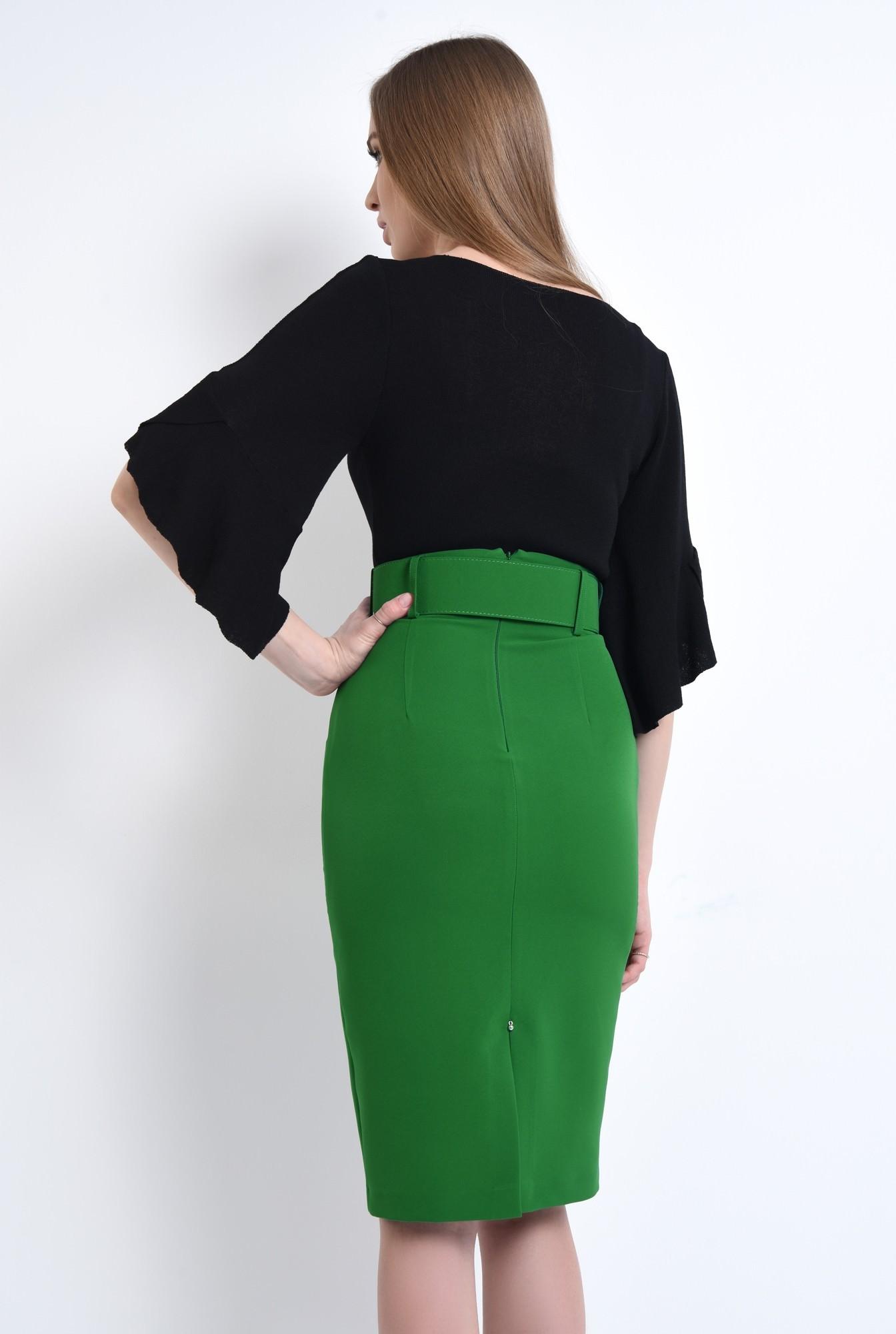 1 - Bluza casual, negru, tricot
