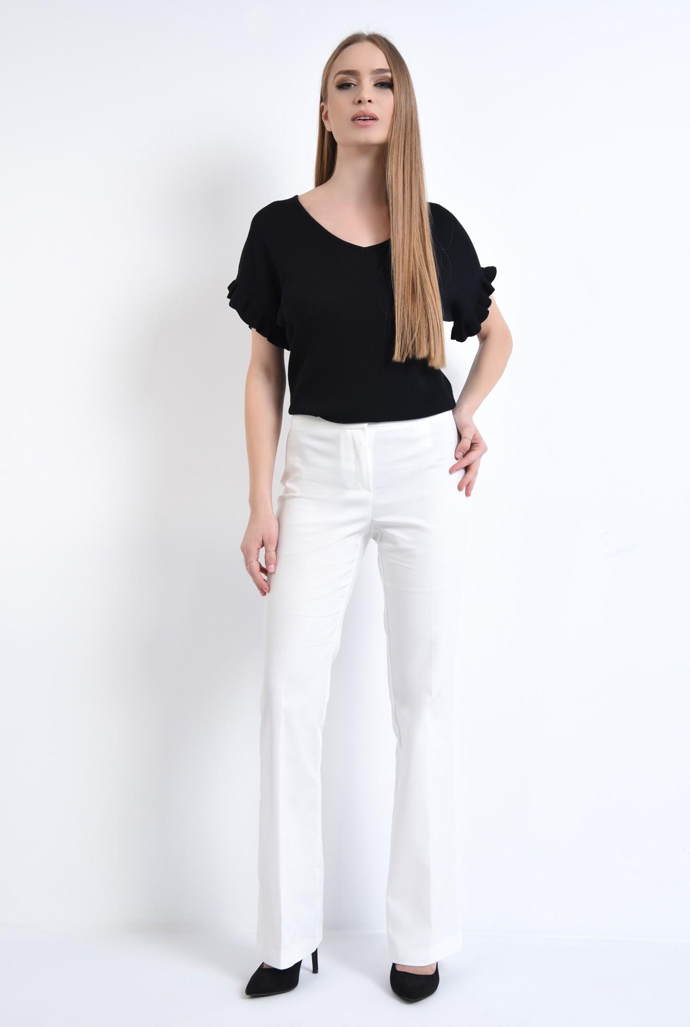 3 - Bluza casual, tricotaj, negru