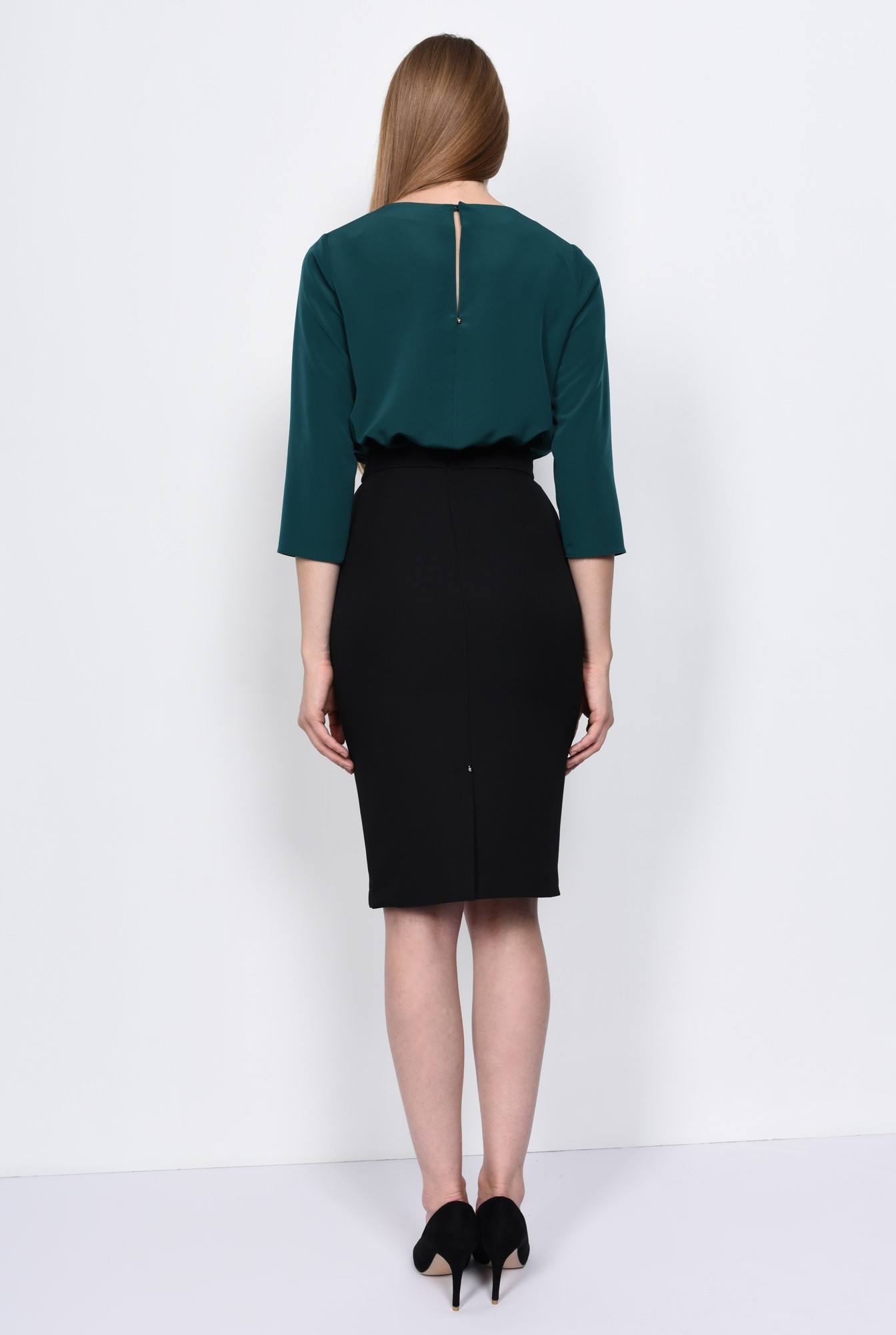 1 - BLUZA OFFICE BL 151-VERDE