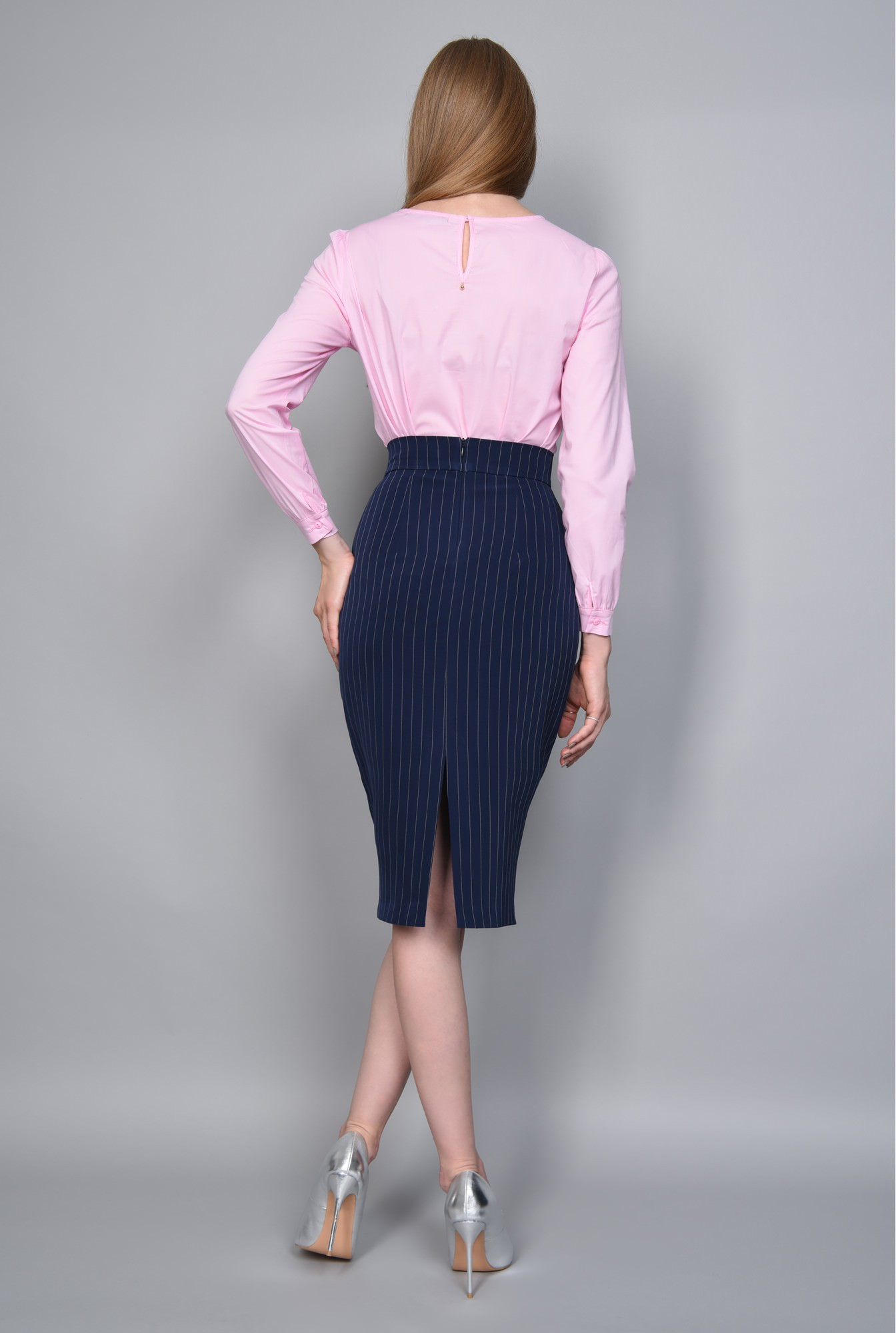 1 - BLUZA OFFICE BL 267-ROZ