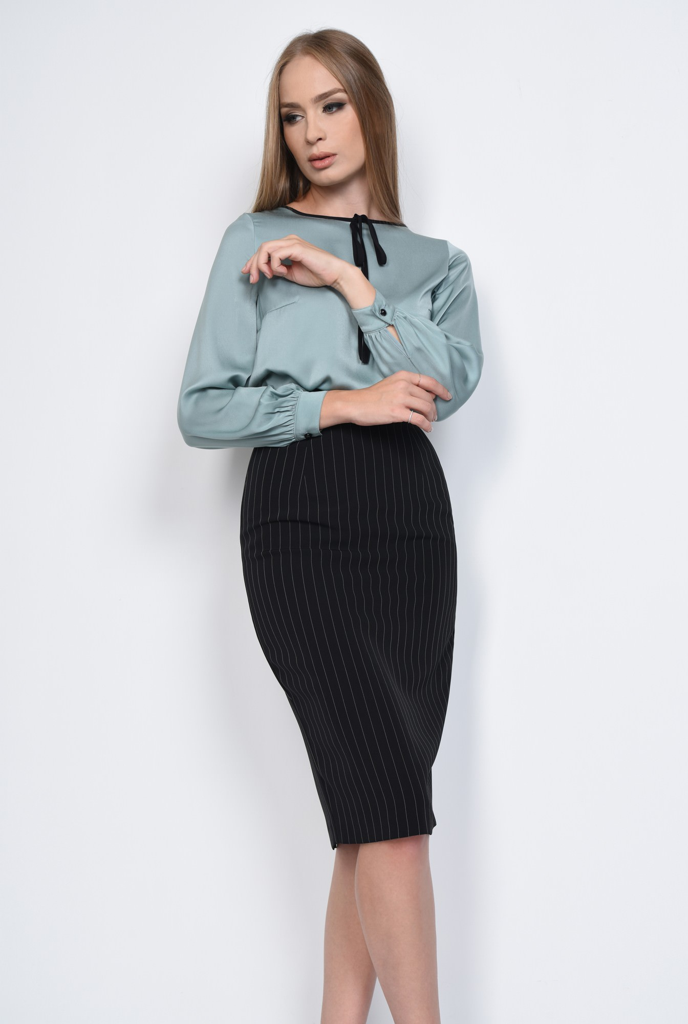 2 - BLUZA OFFICE BL 275-BLEU