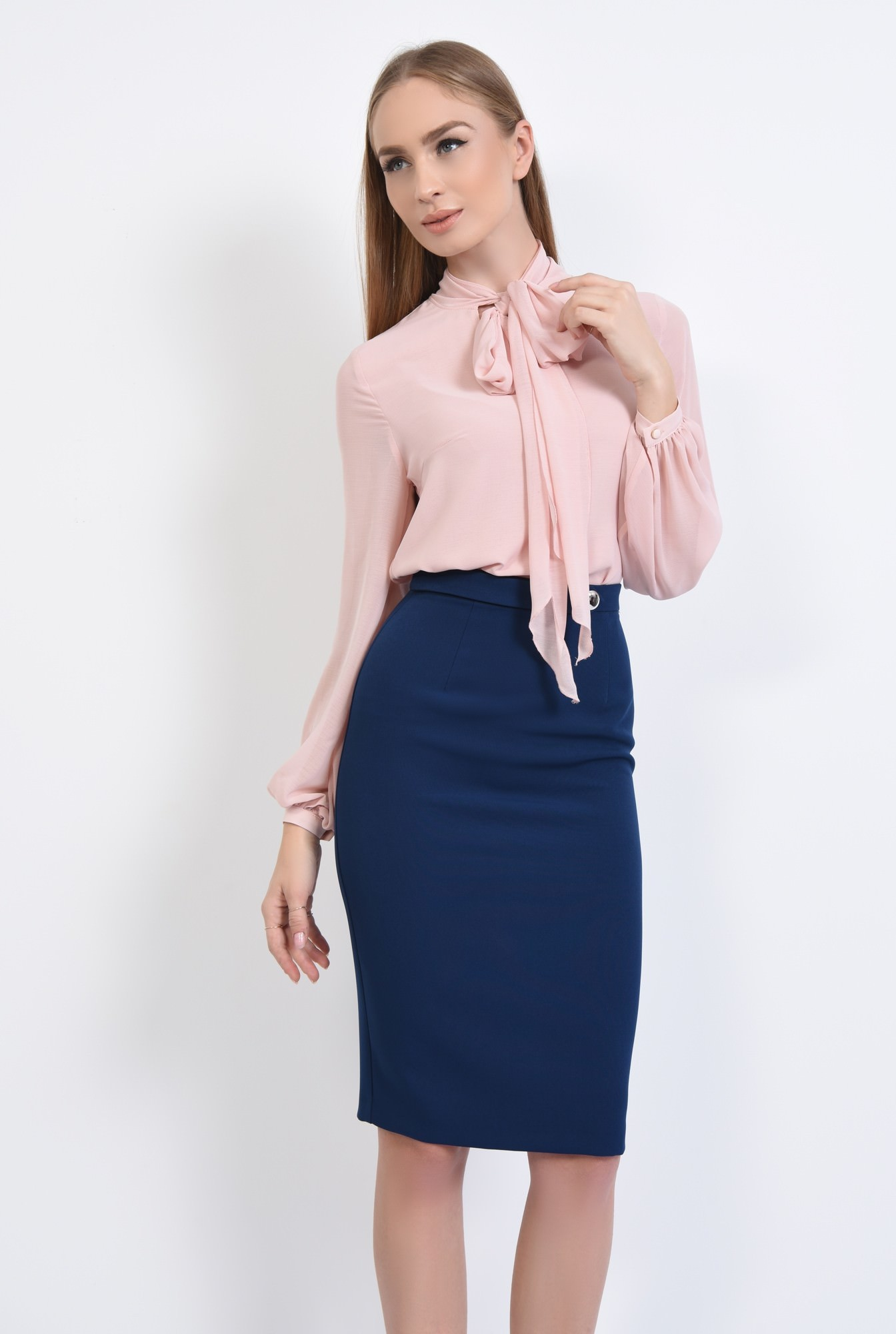 0 - BLUZA OFFICE BL 290-ROZ