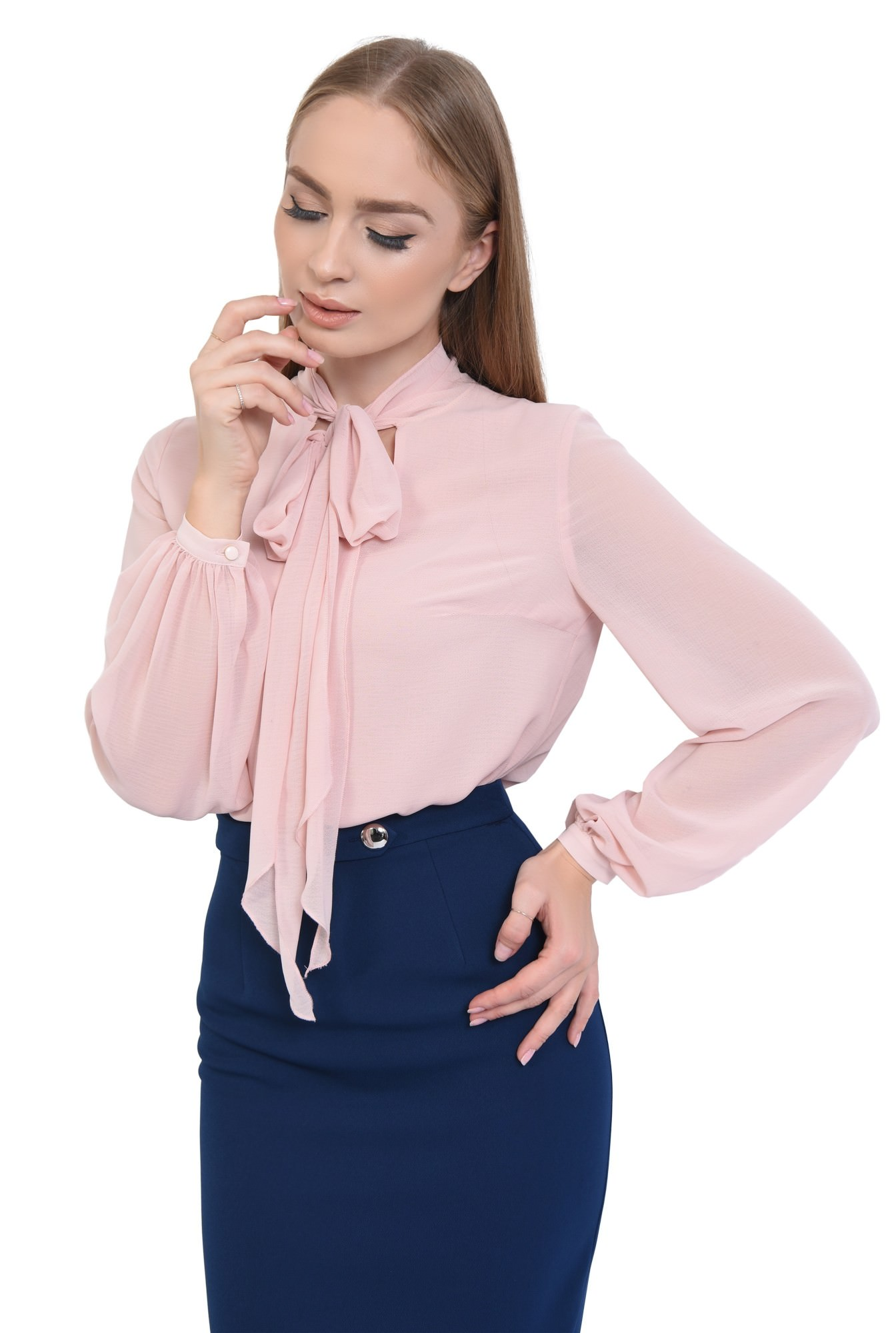 2 - BLUZA OFFICE BL 290-ROZ