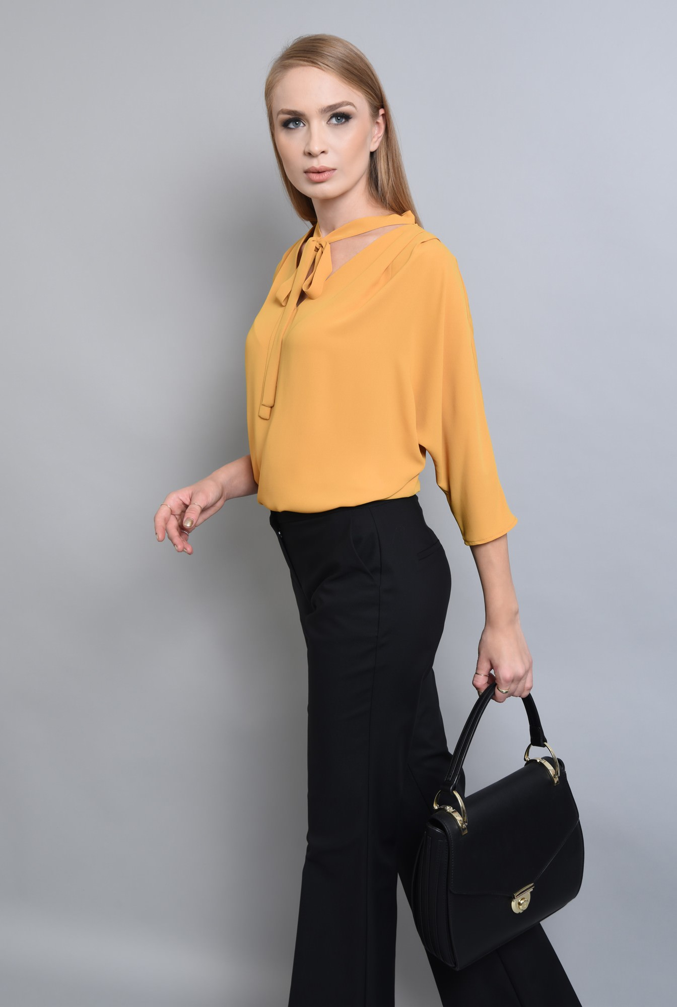2 - BLUZA OFFICE BL 291-MUSTAR