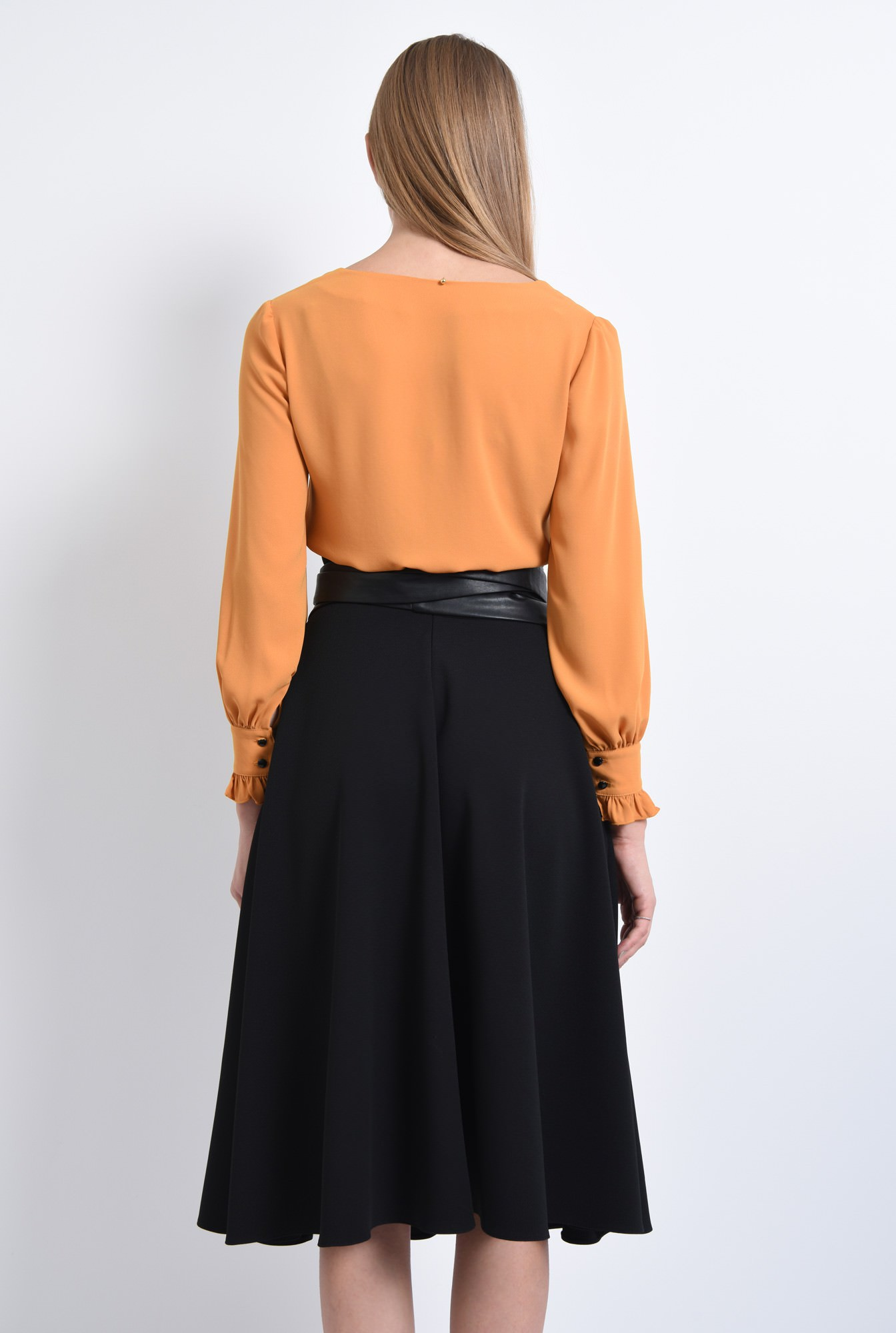 1 - BLUZA OFFICE BL 292-MUSTAR
