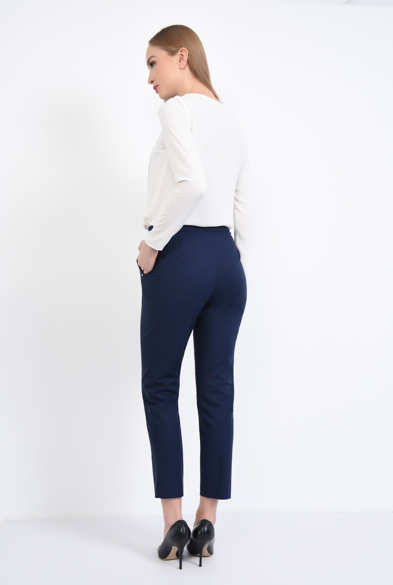 1 - Bluza eleganta, pliseuri
