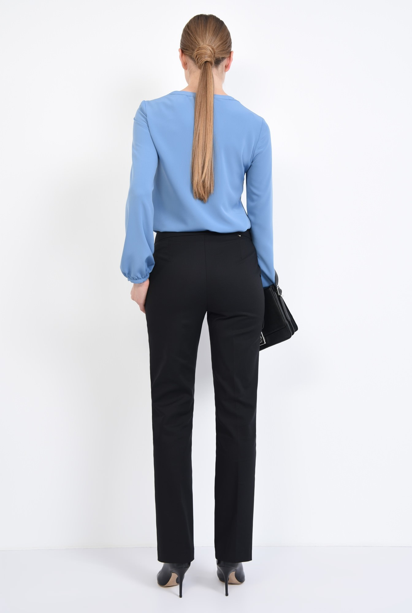 1 - 360 - Bluza casual, bleu, maneci lungi