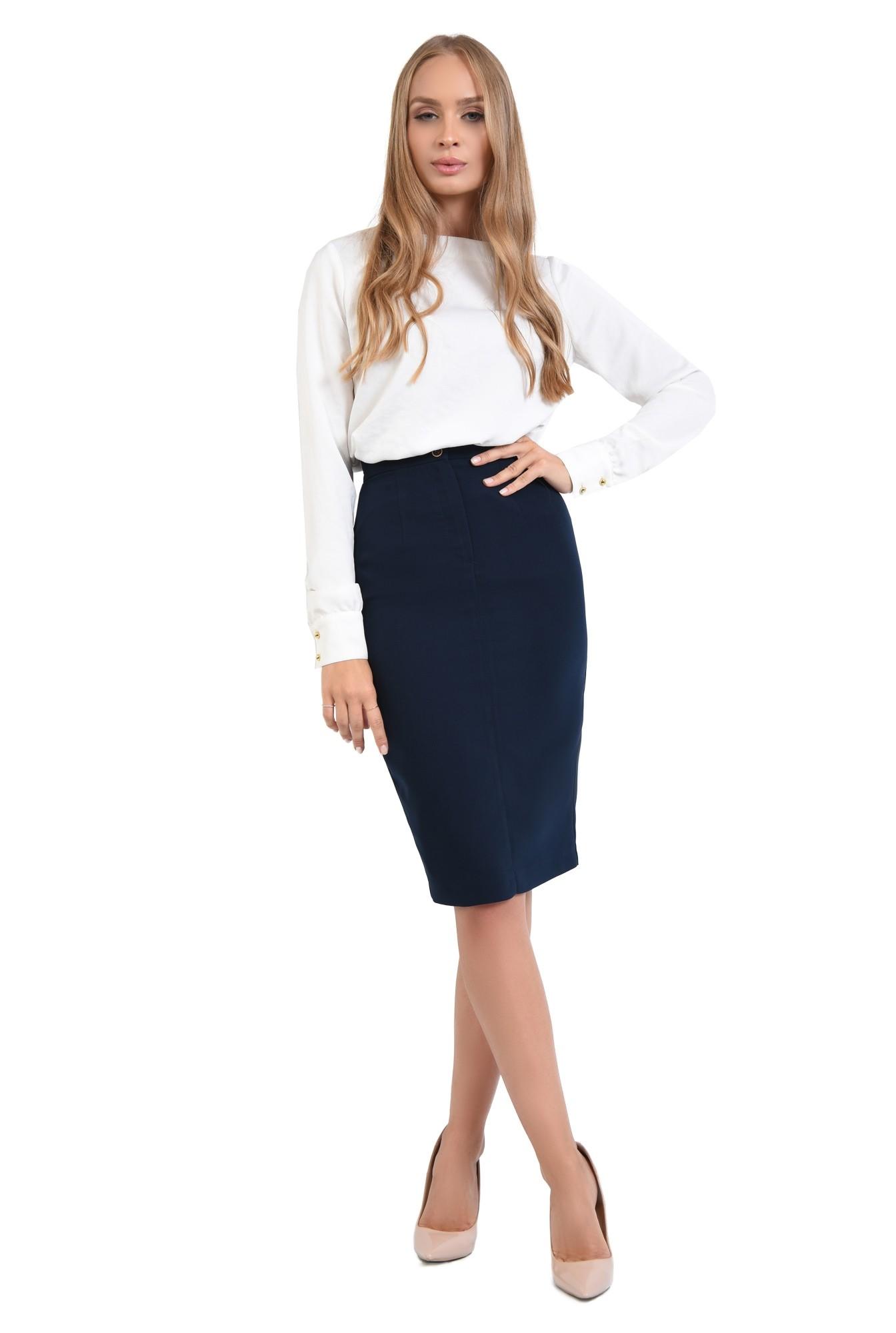 3 - 360 - bluza casual, dreapta, lejera, nasturi decorativi metalici, bluze dama