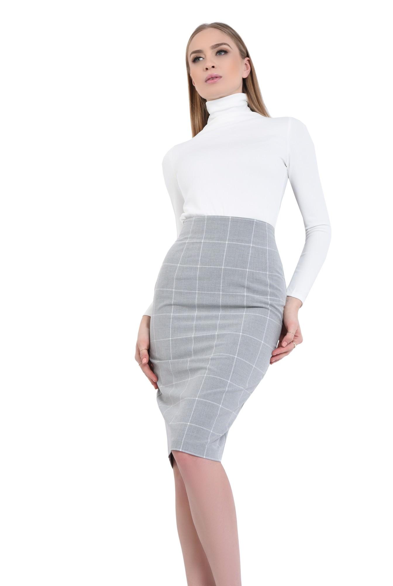 0 - Bluza casual, alb, maneci lungi