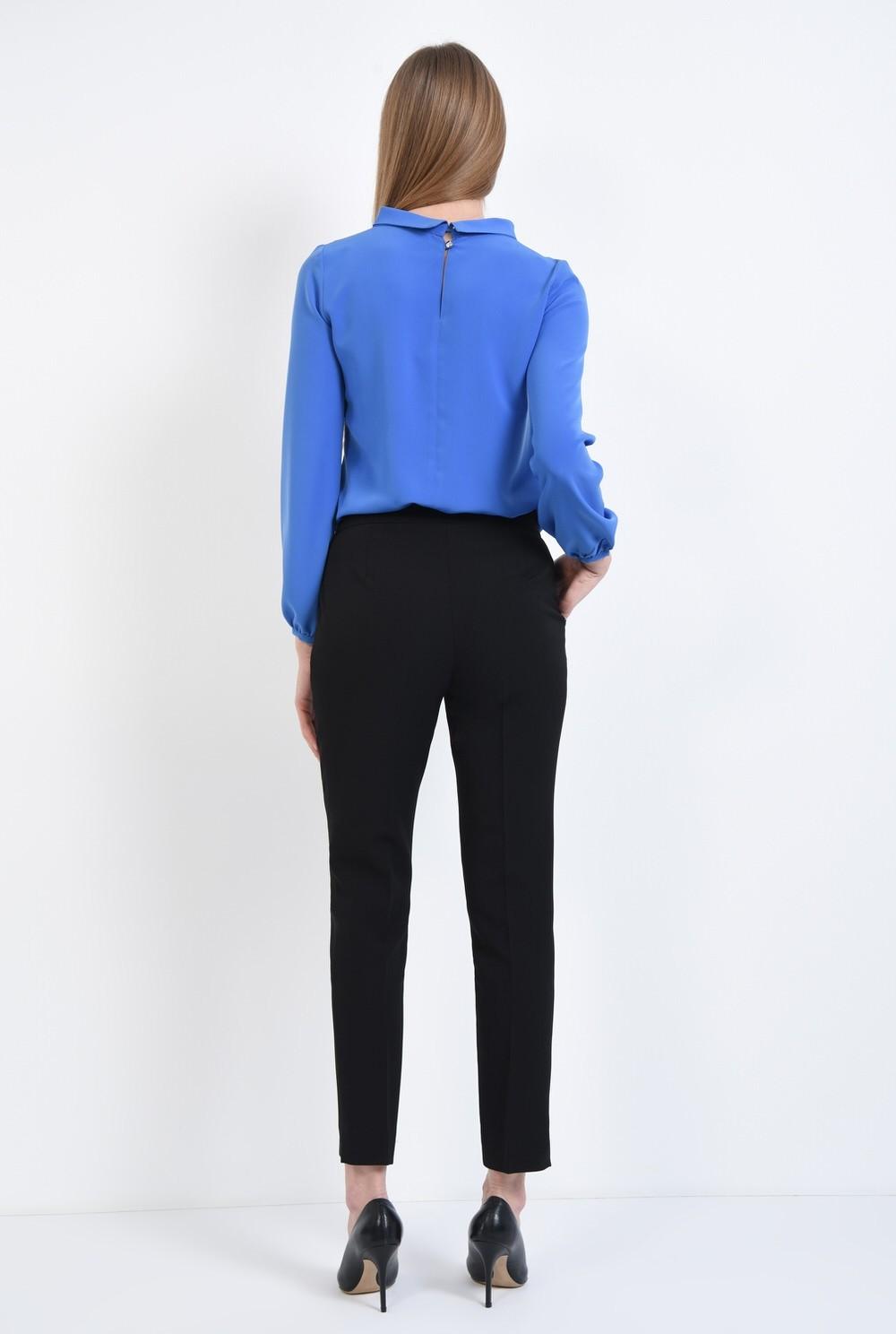 1 - Bluza office, albastru