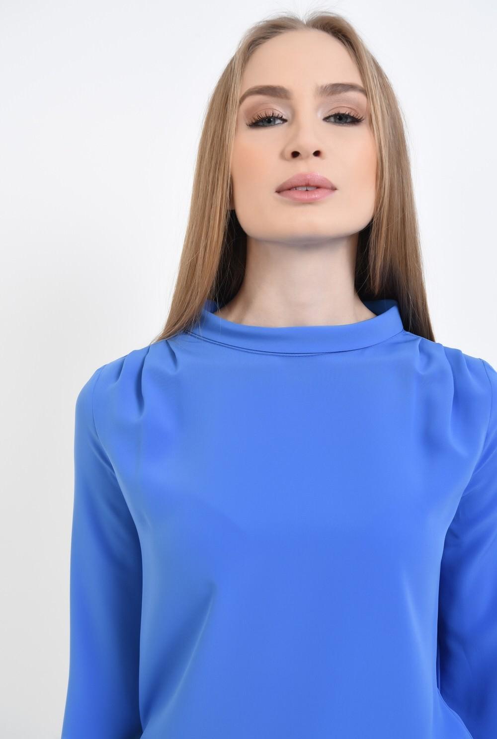 2 - Bluza office, albastru