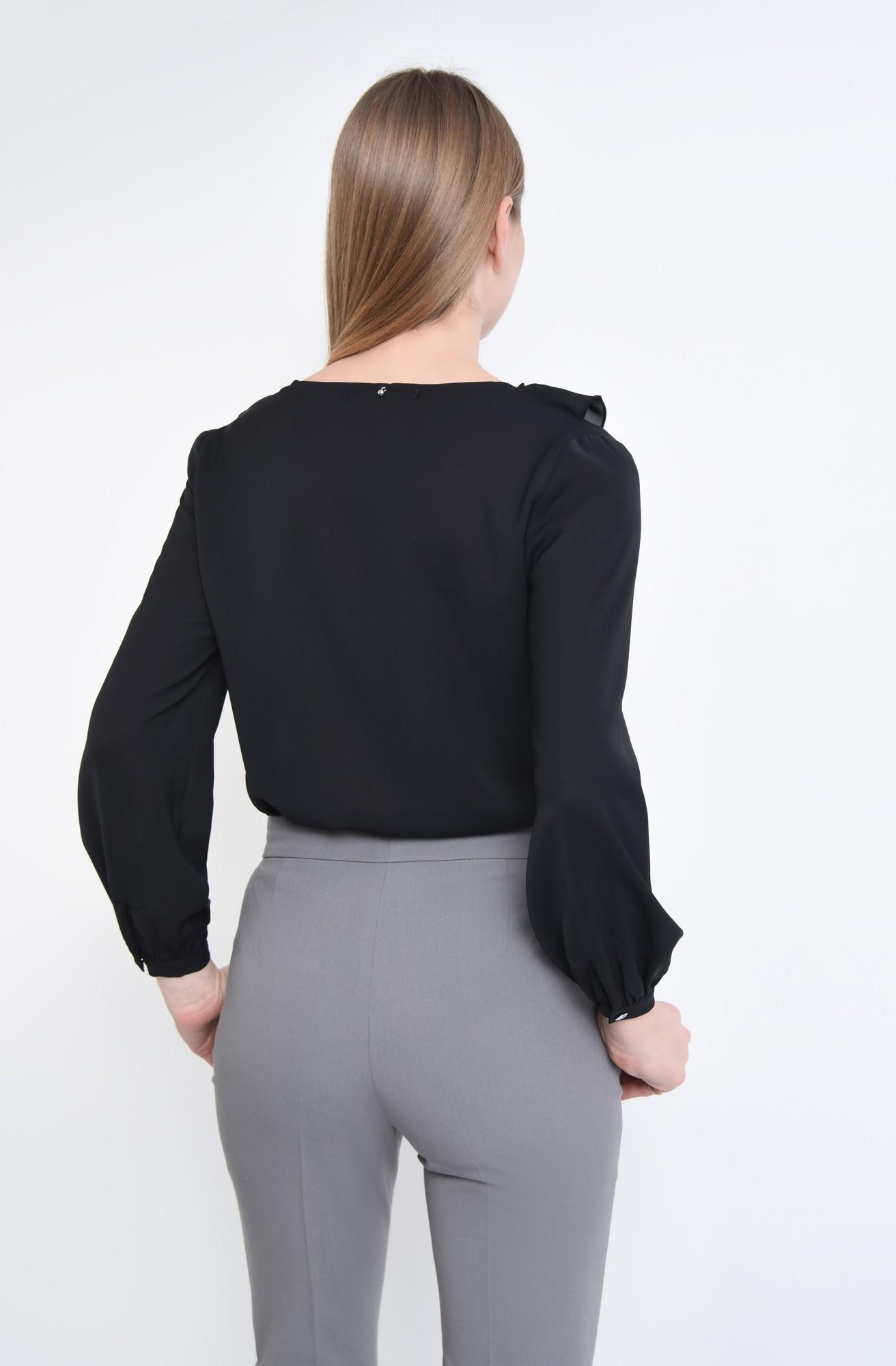 1 - Bluza casual, negru, anchior