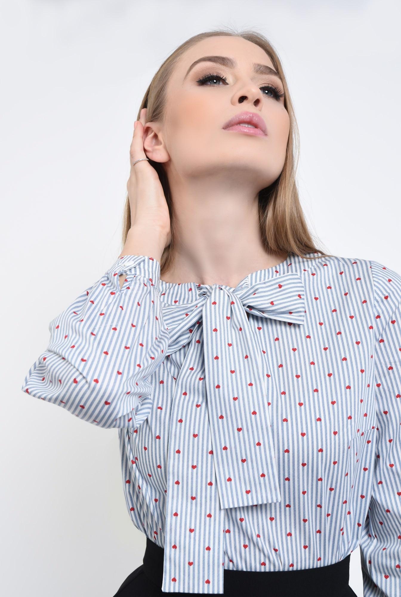 2 - Bluza casual, bumbac, imprimeu