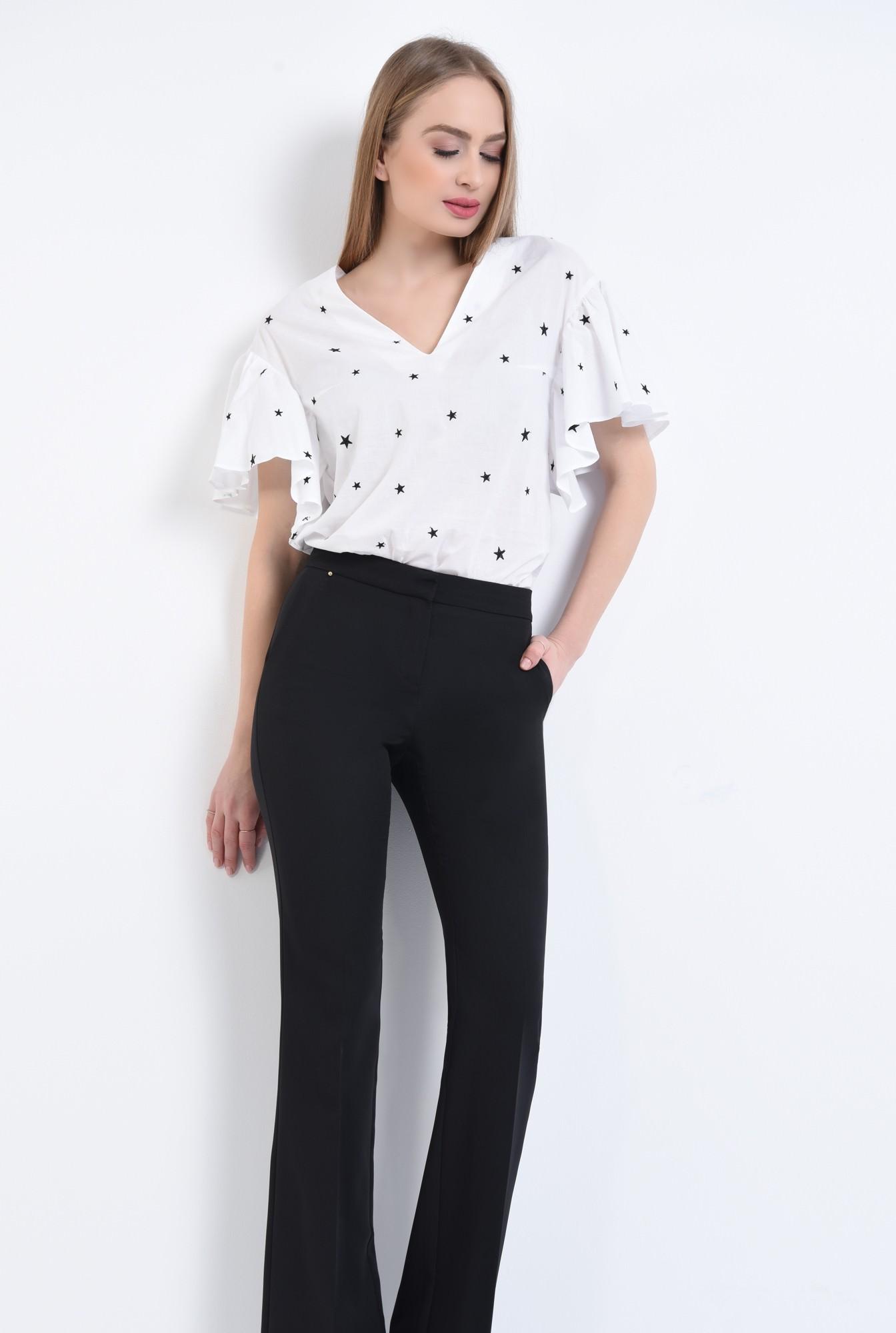 3 - Bluza casual, alb, anchior