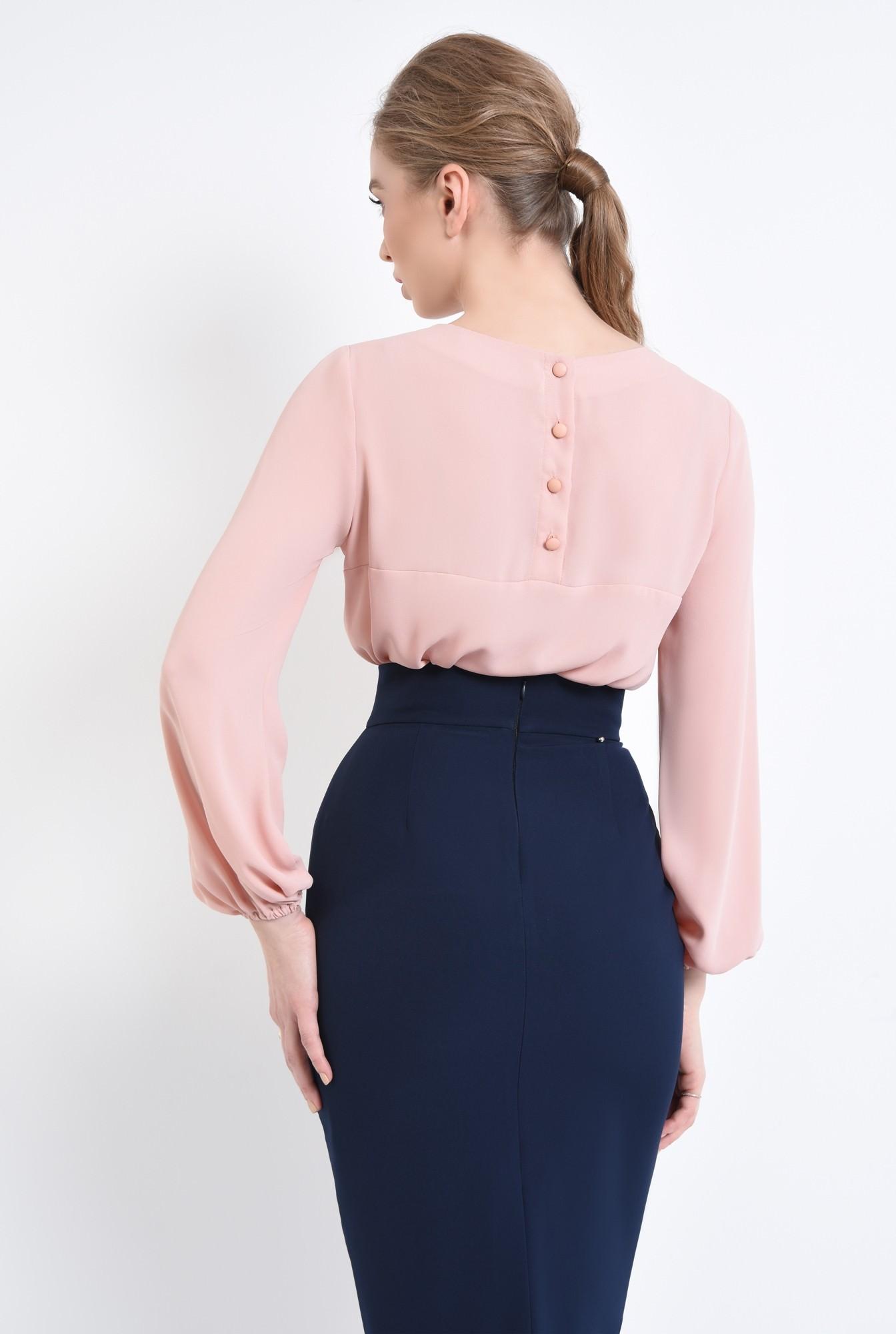 1 - 360 - Bluza casual, inchidere cu nasturi