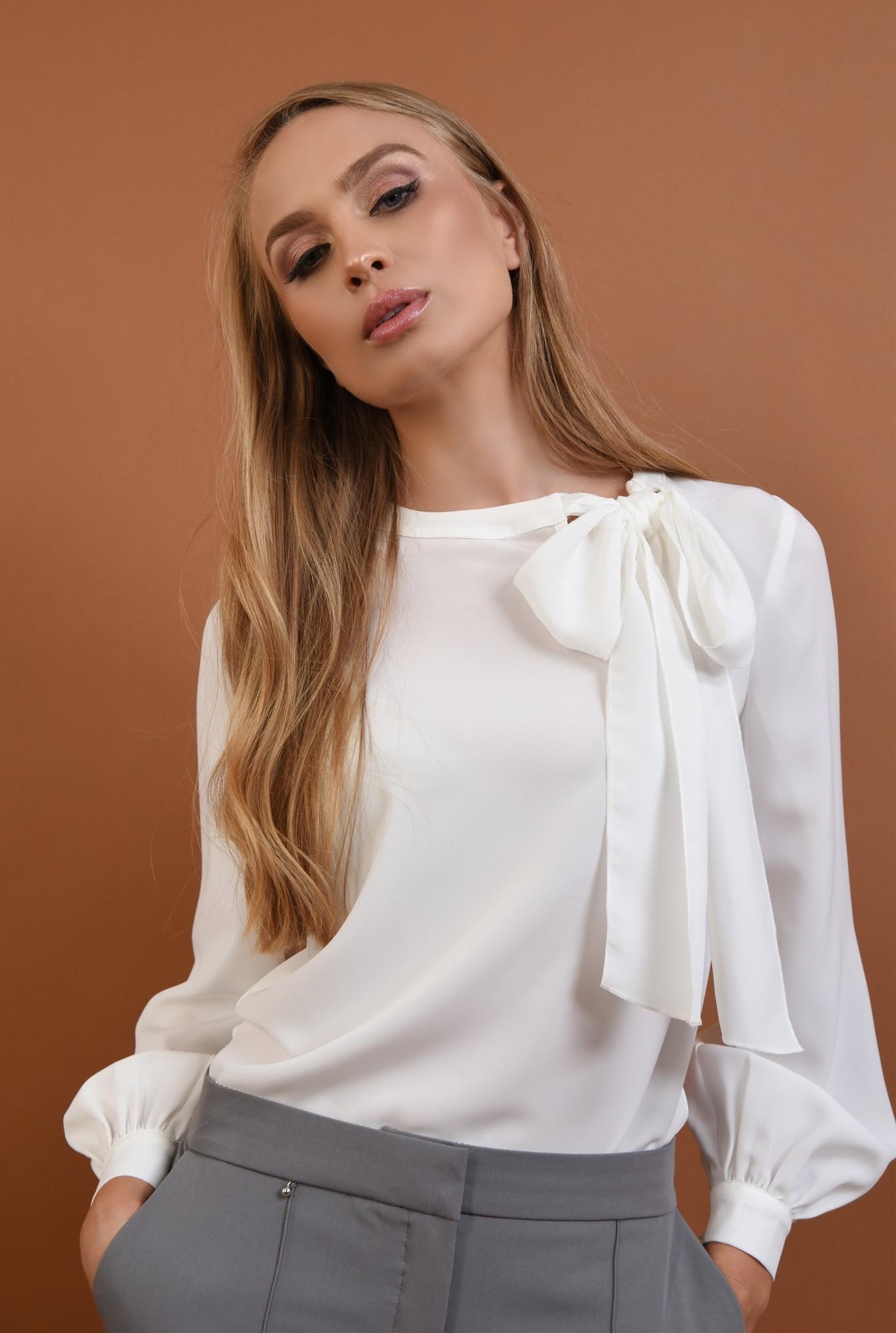 0 - Bluza casual, alb