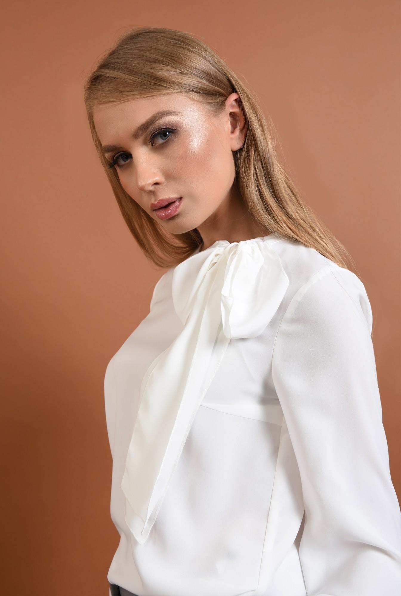2 - Bluza casual, alb