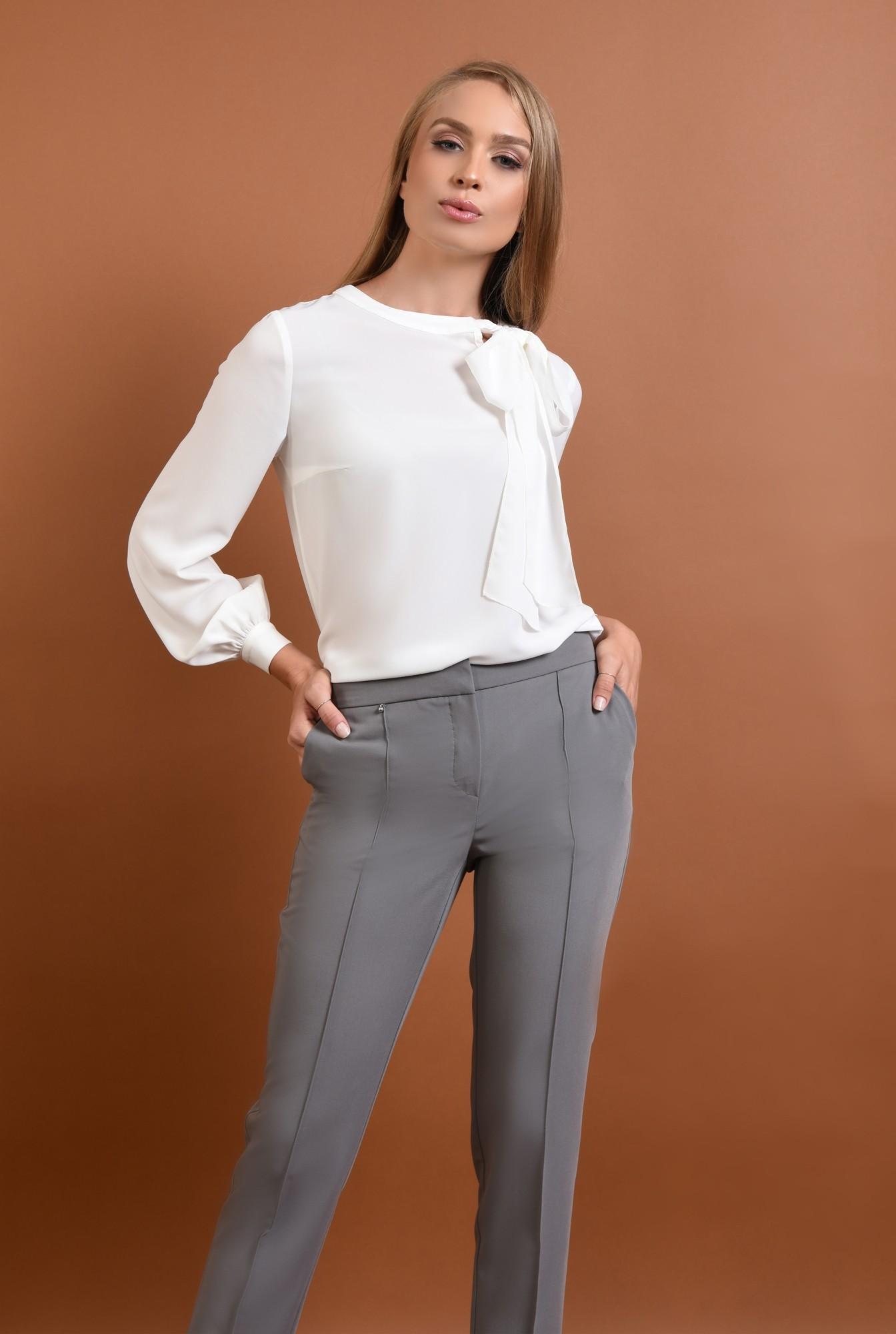 3 - Bluza casual, alb