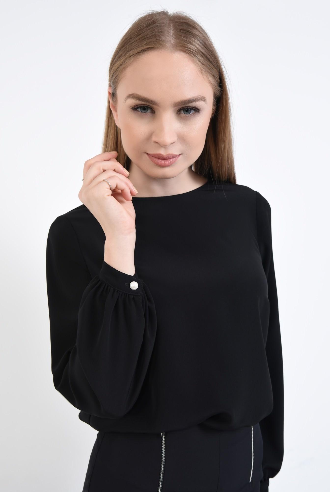 3 - Bluza casual, negru