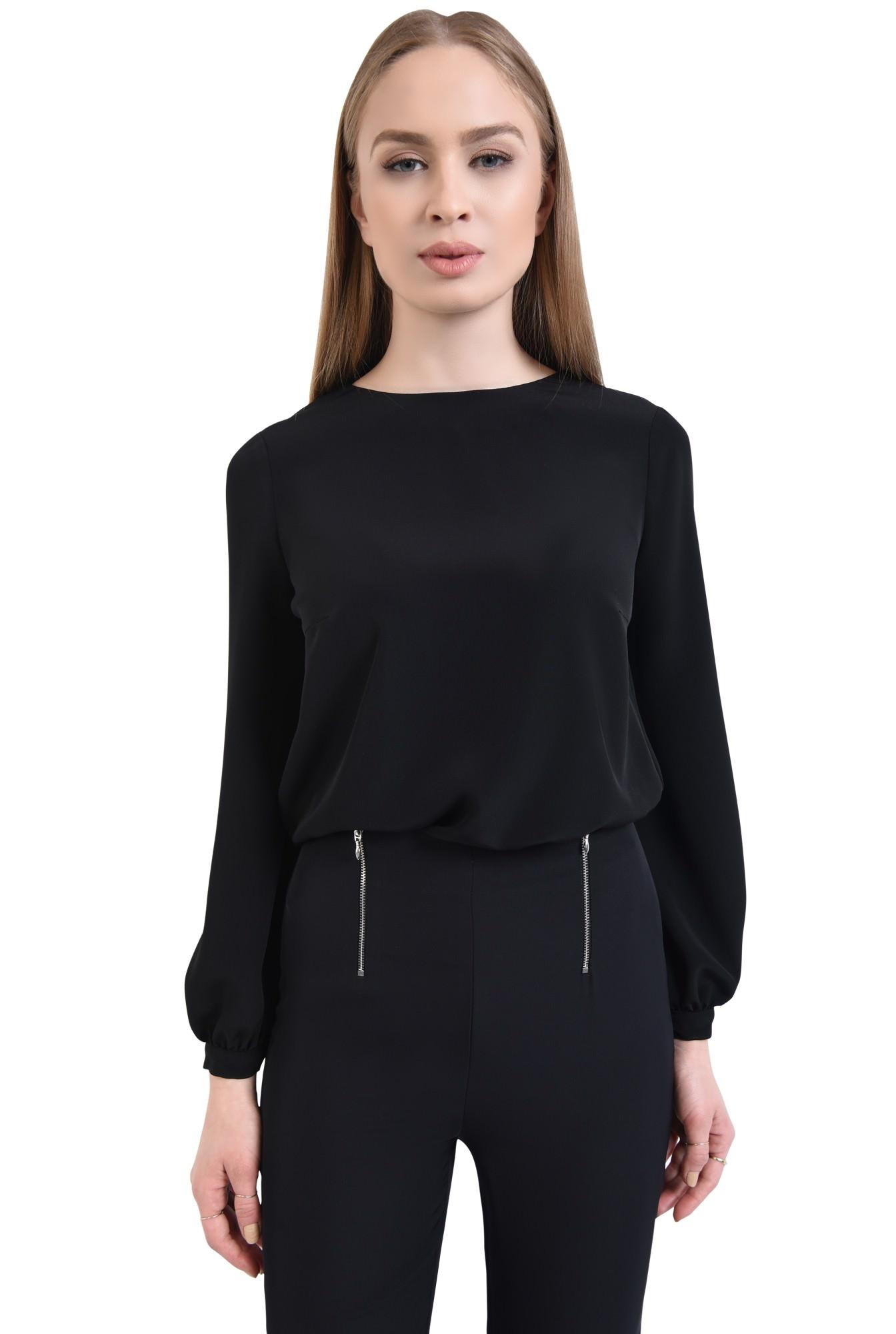 0 - Bluza casual, negru