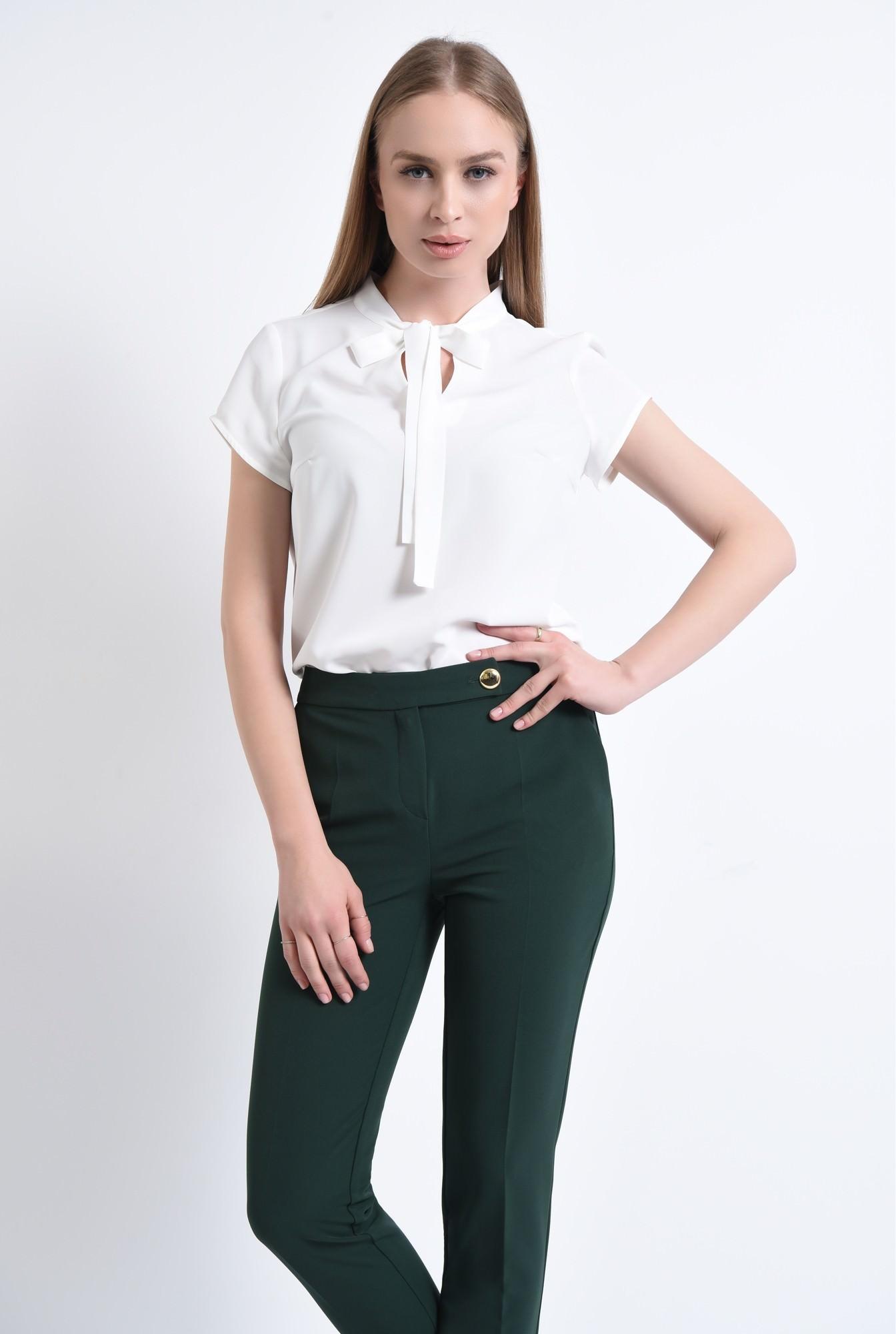 0 - 360 - Bluza casual, guler camasa