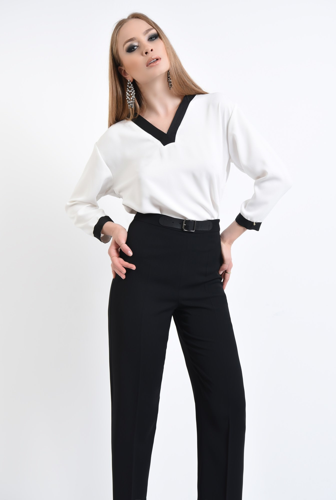 3 - Bluza eleganta, maneci lungi