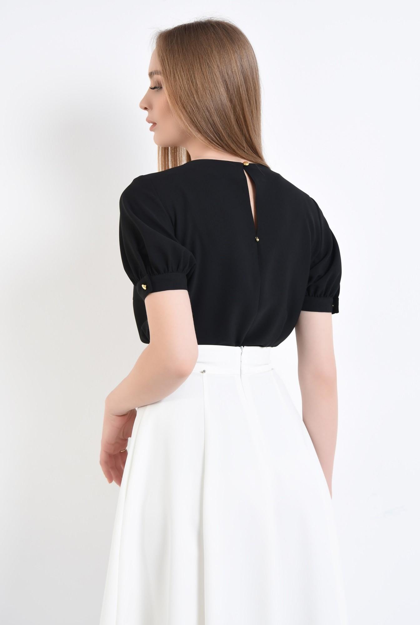 1 - 360 - Bluza eleganta, maneci scurte