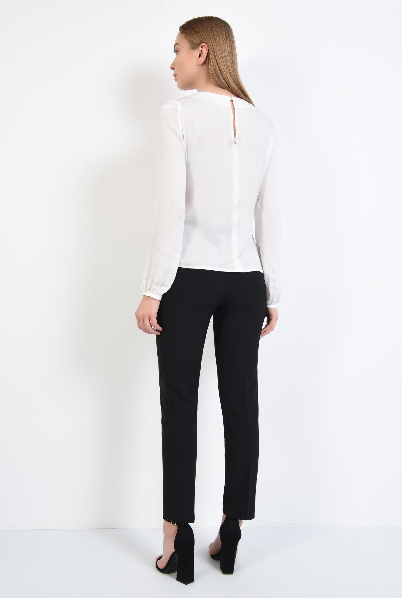 1 - 360 - bluza cu rips, casual, croi lejer, maneci lungi