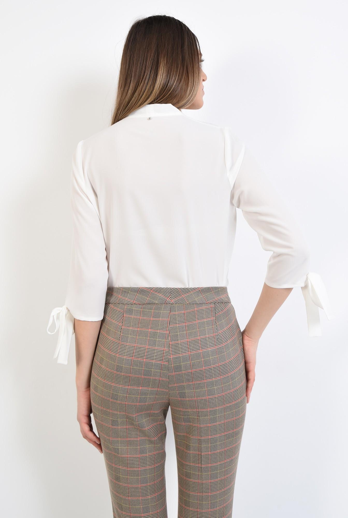 1 - 360 - pantaloni de costum, in carouri, conici, buzunare in cusatura