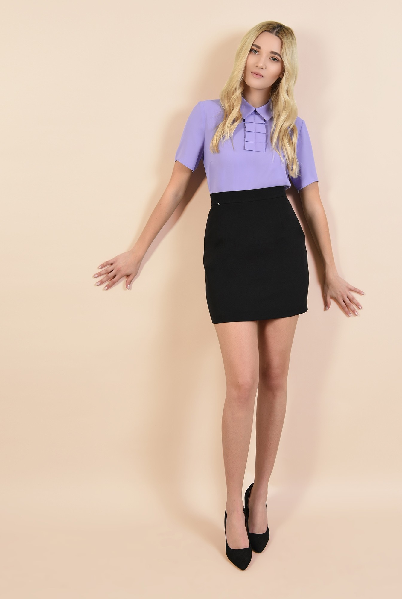3 - bluza lila, bluze online, cu guler ascutit, cu jabou