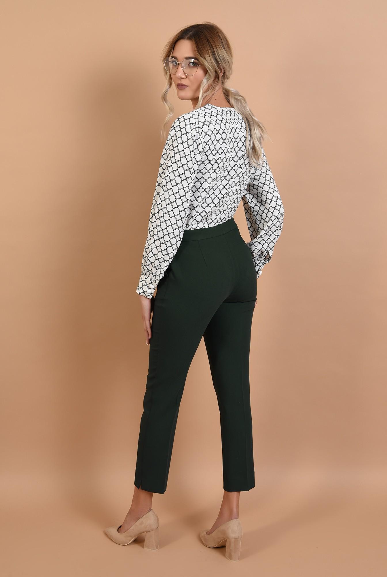 1 - bluza casual, cu anchior, imprimeu alb-negru, Poema