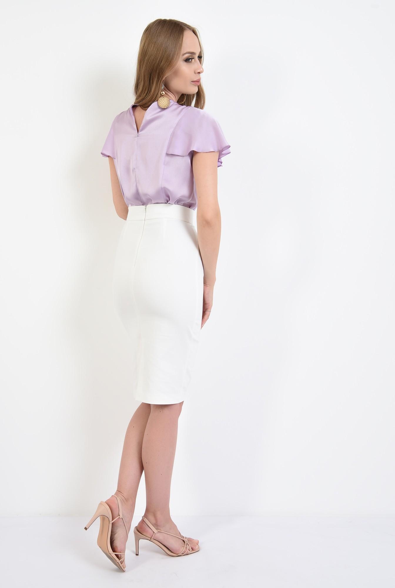 1 - 360 - bluza lila, cu maneca fluture, Poema