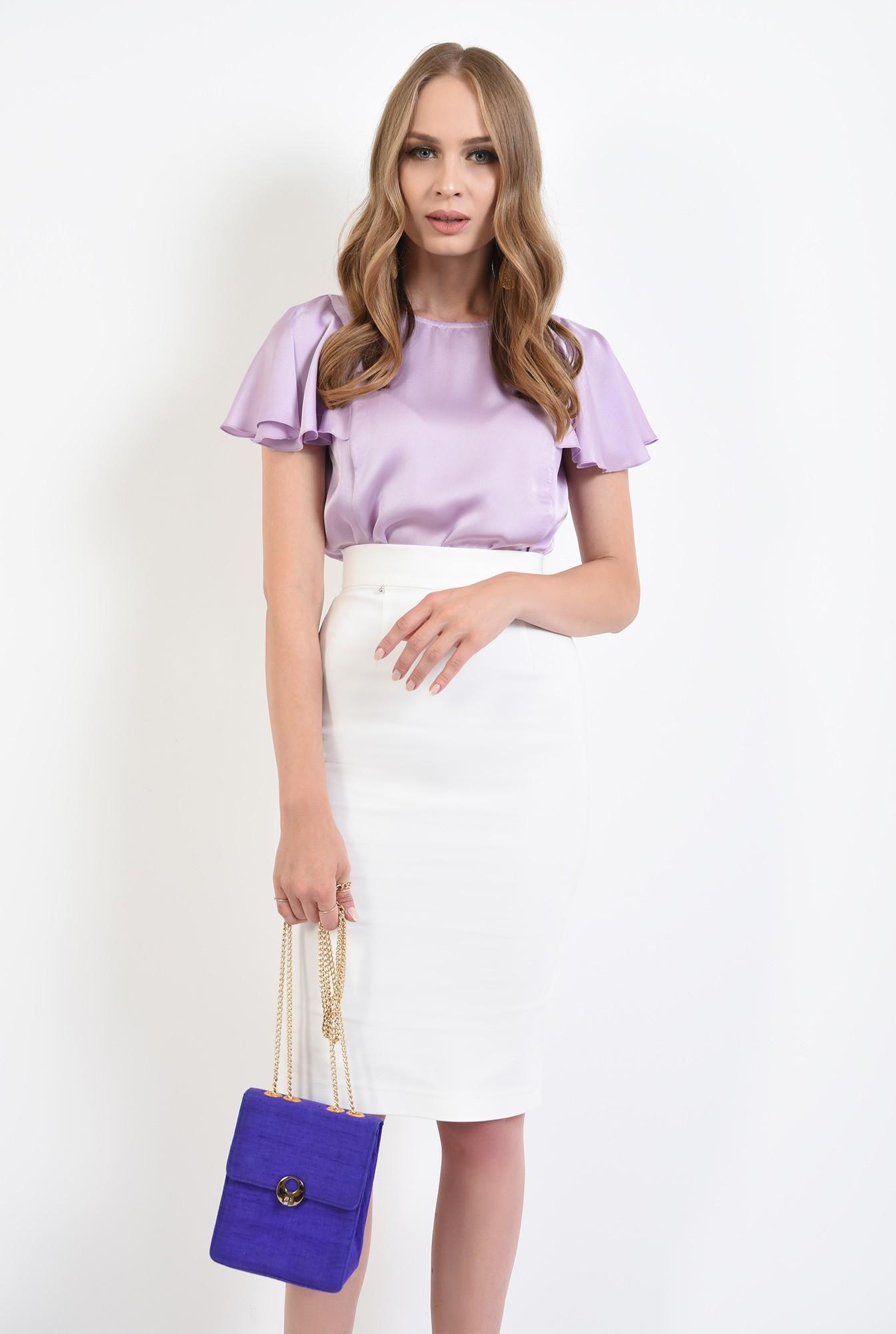 0 - 360 - bluza lila, cu maneca fluture, Poema