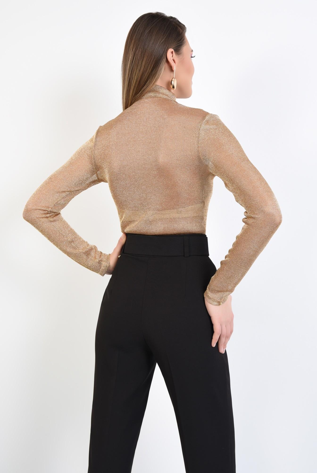 1 - 360 - bluza de ocazie, maleta eleganta, auriu, cu lurex