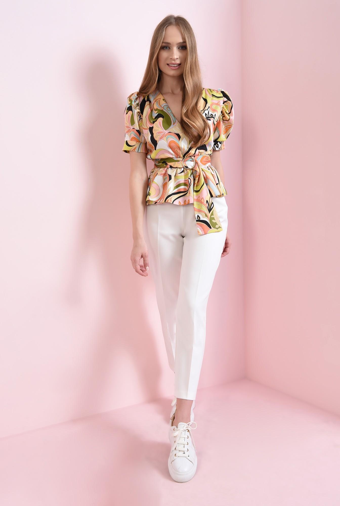 1 - bluza cu print multicolor