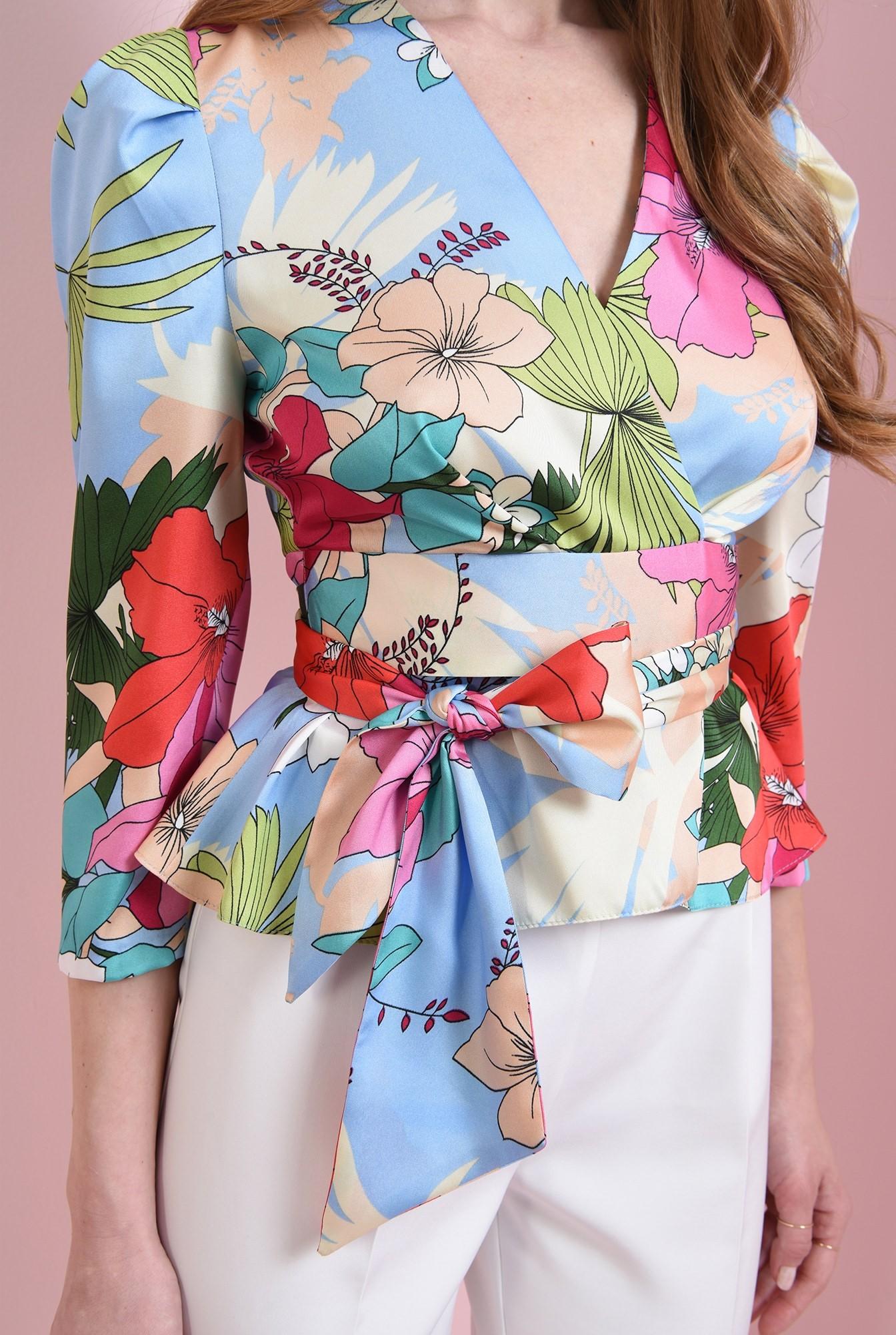 2 - bluza colorata, cu cordon, Poema