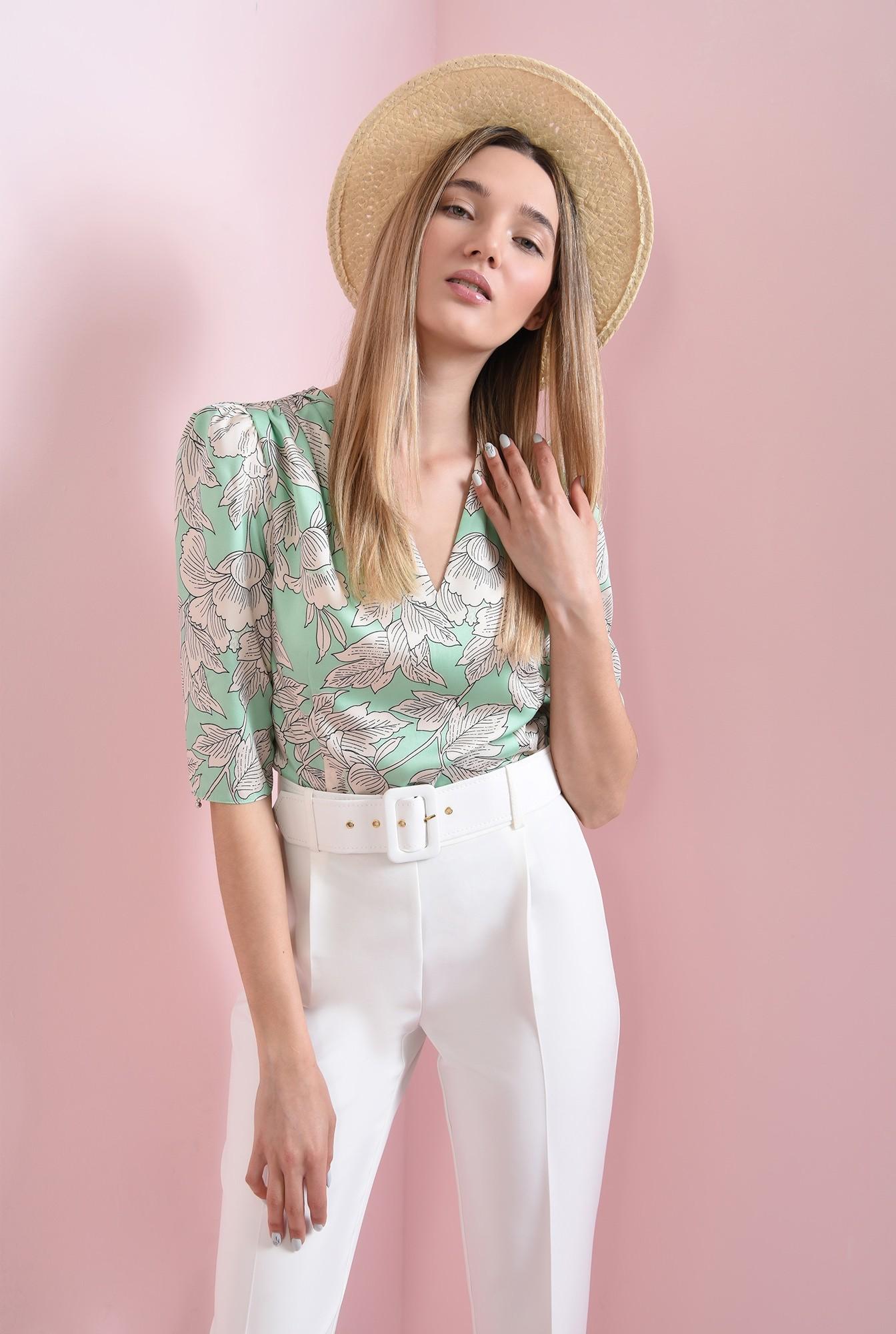 1 - bluza cu imprimeu floral