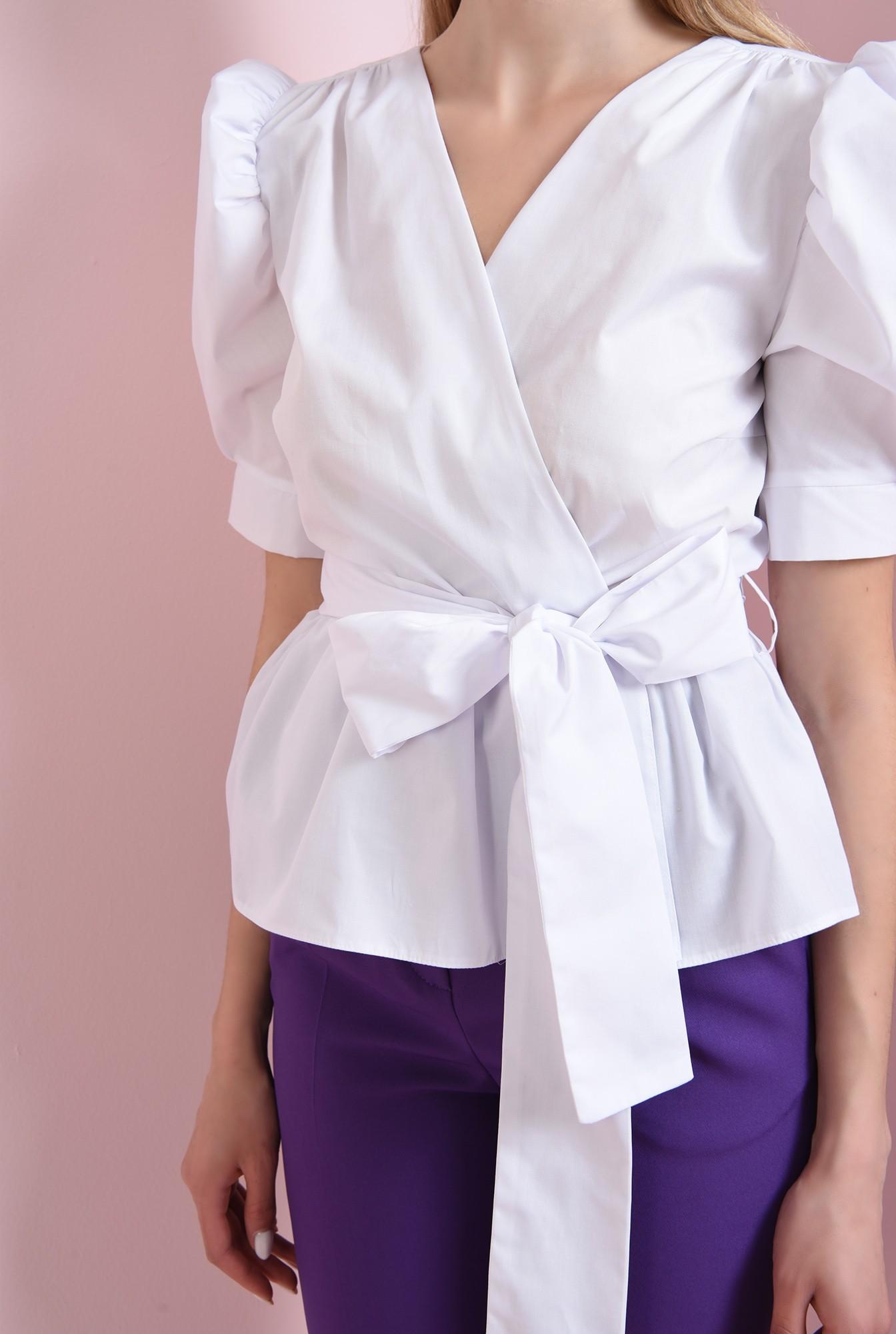 3 - 360 - bluza cu cordon, cu umeri accentuati