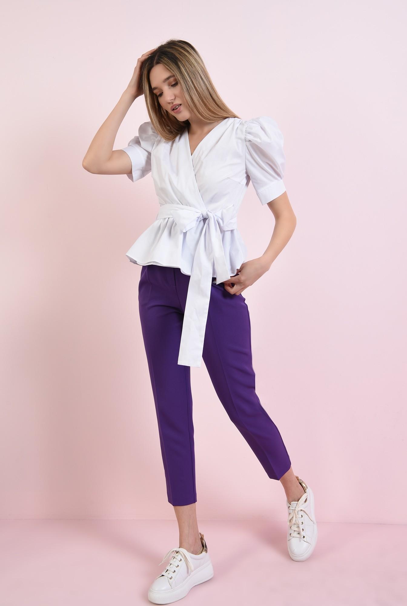 1 - 360 - bluza cu cordon, cu umeri accentuati
