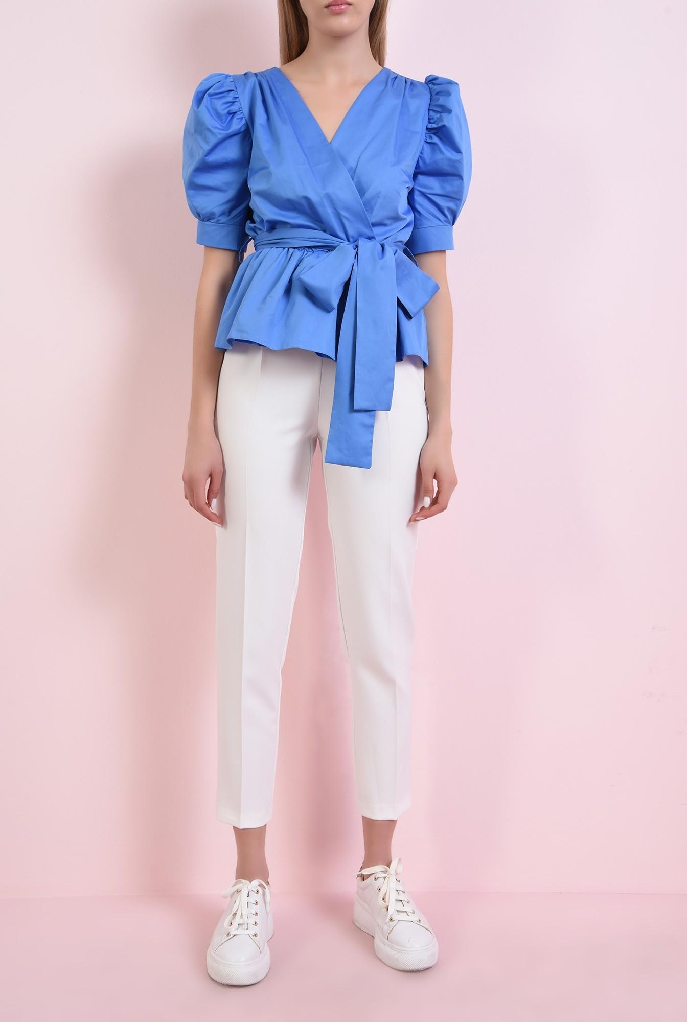 3 - 360 - bluza albastra, din bumbac
