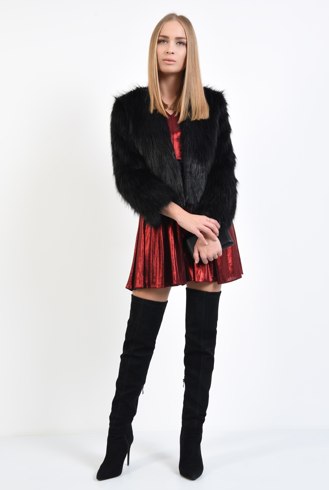3 - haina de blana, neagra, jacheta dama, bolero blana online