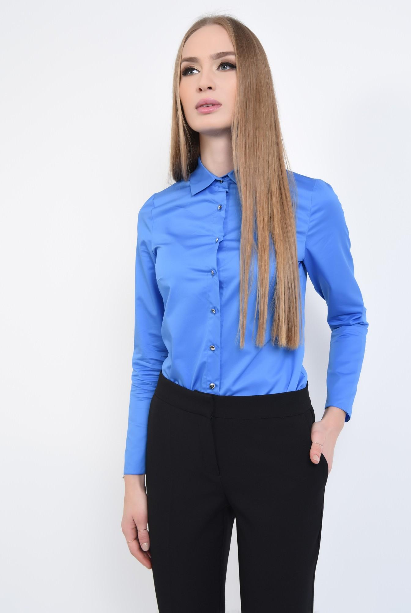 0 - Bluza casual, maneci lungi