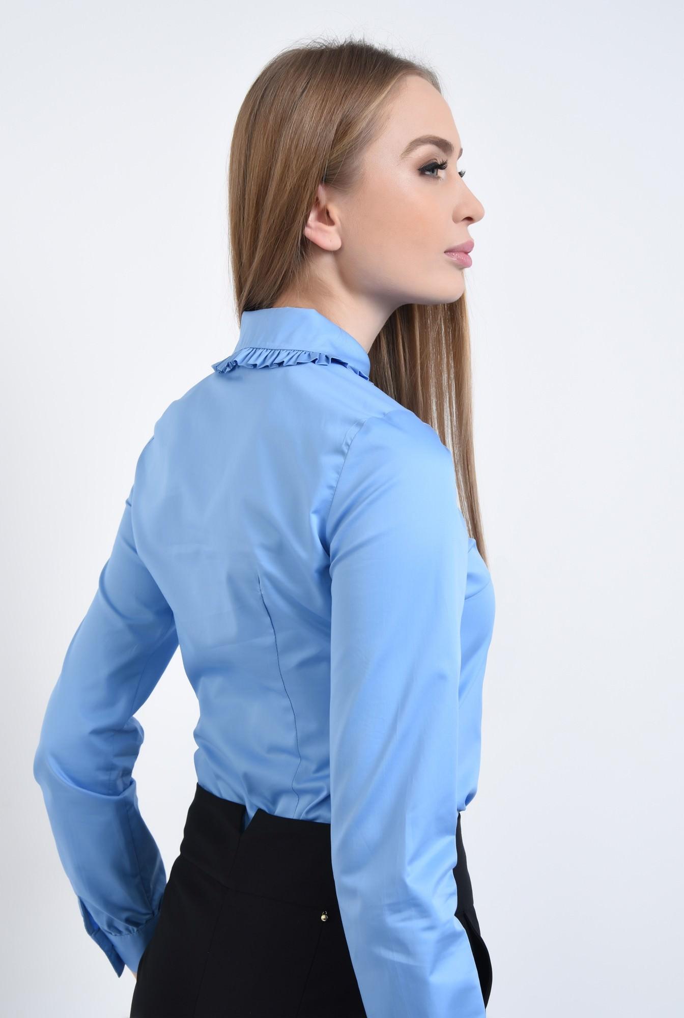 1 - Camasa casual, bleu, bumbac