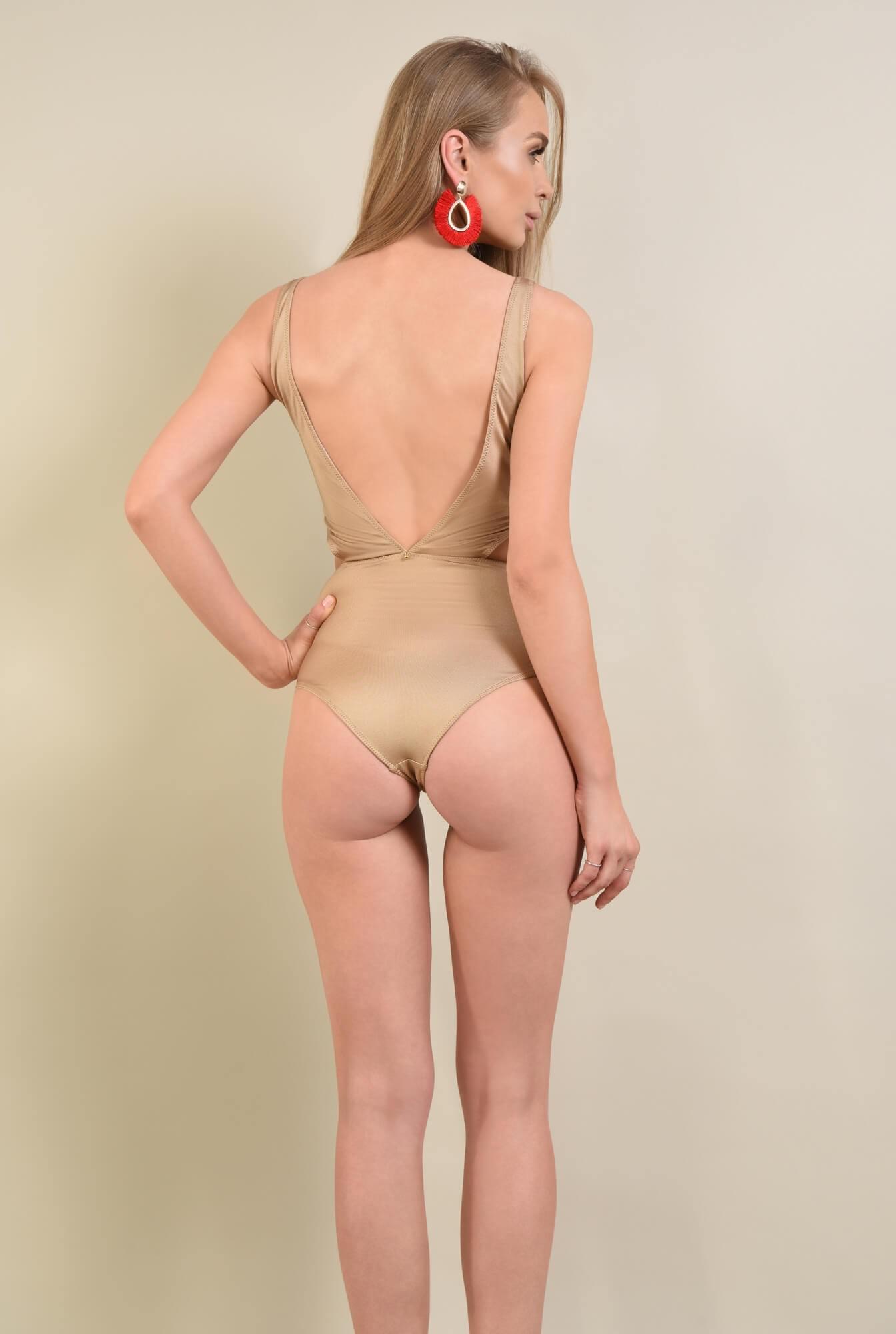 2 - costum de baie intreg, nude, decupaje
