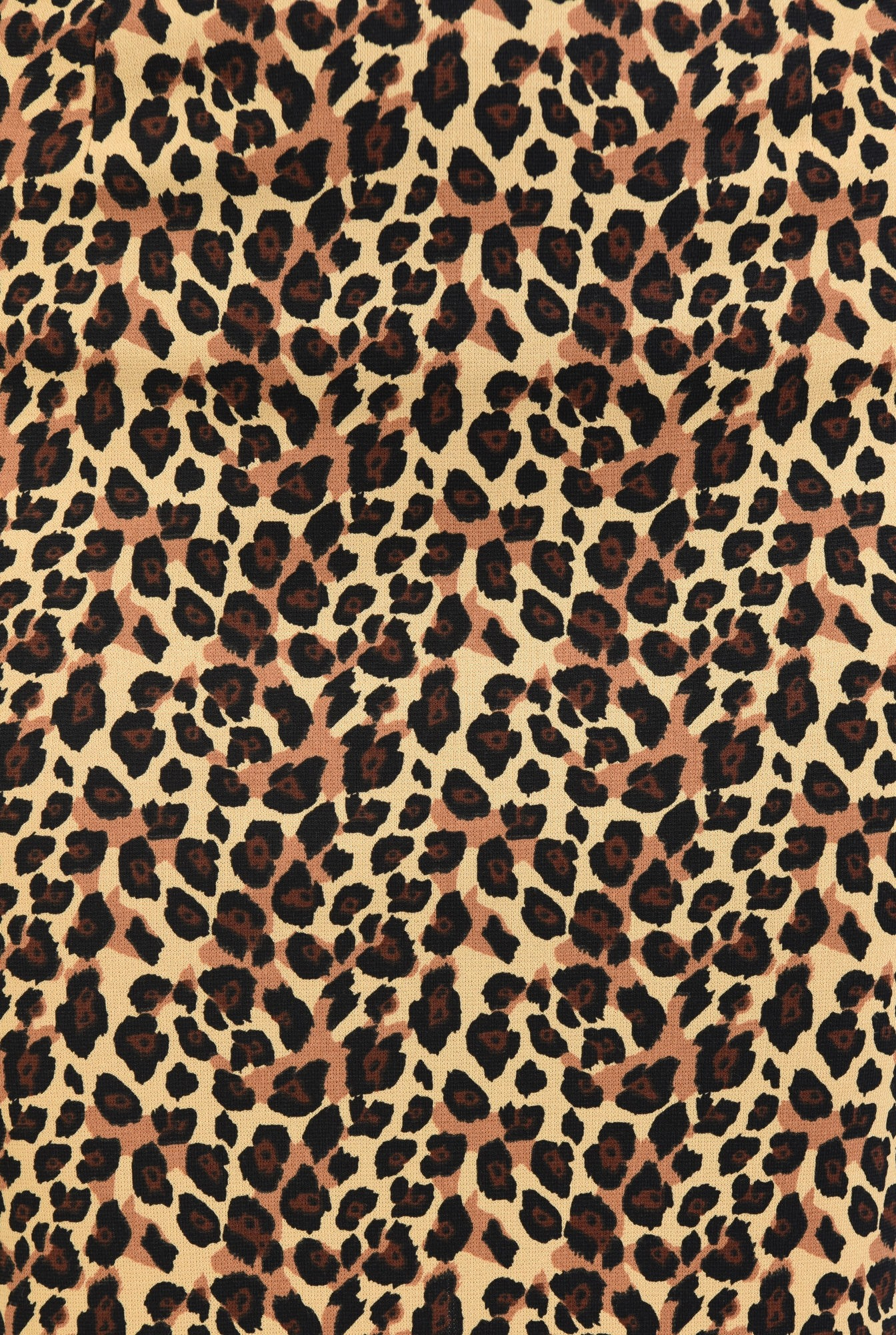 2 - fusta cu imprimeu leopard, midi, tesatura elastica