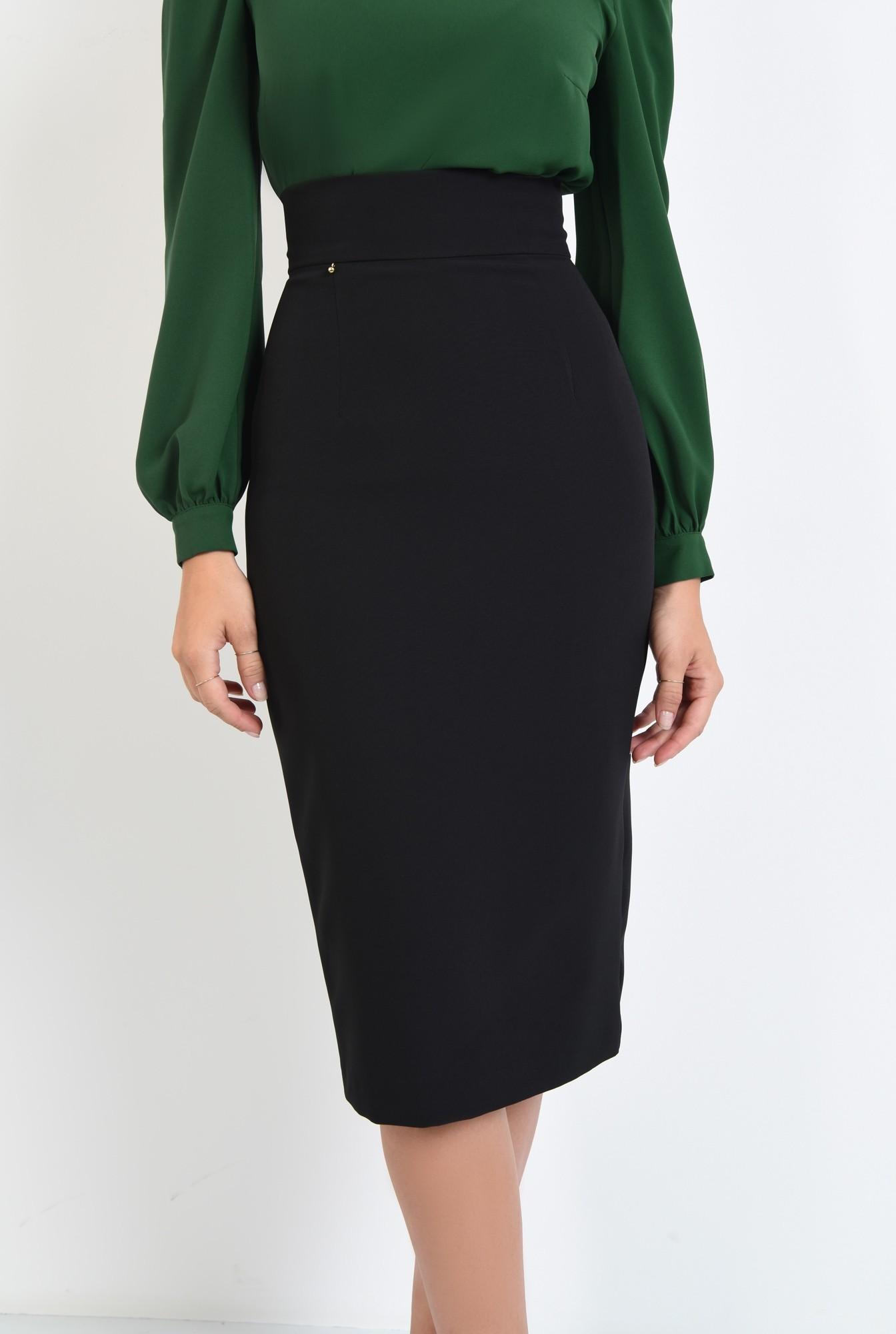2 - fusta mulata, neagra, tesatura elastica