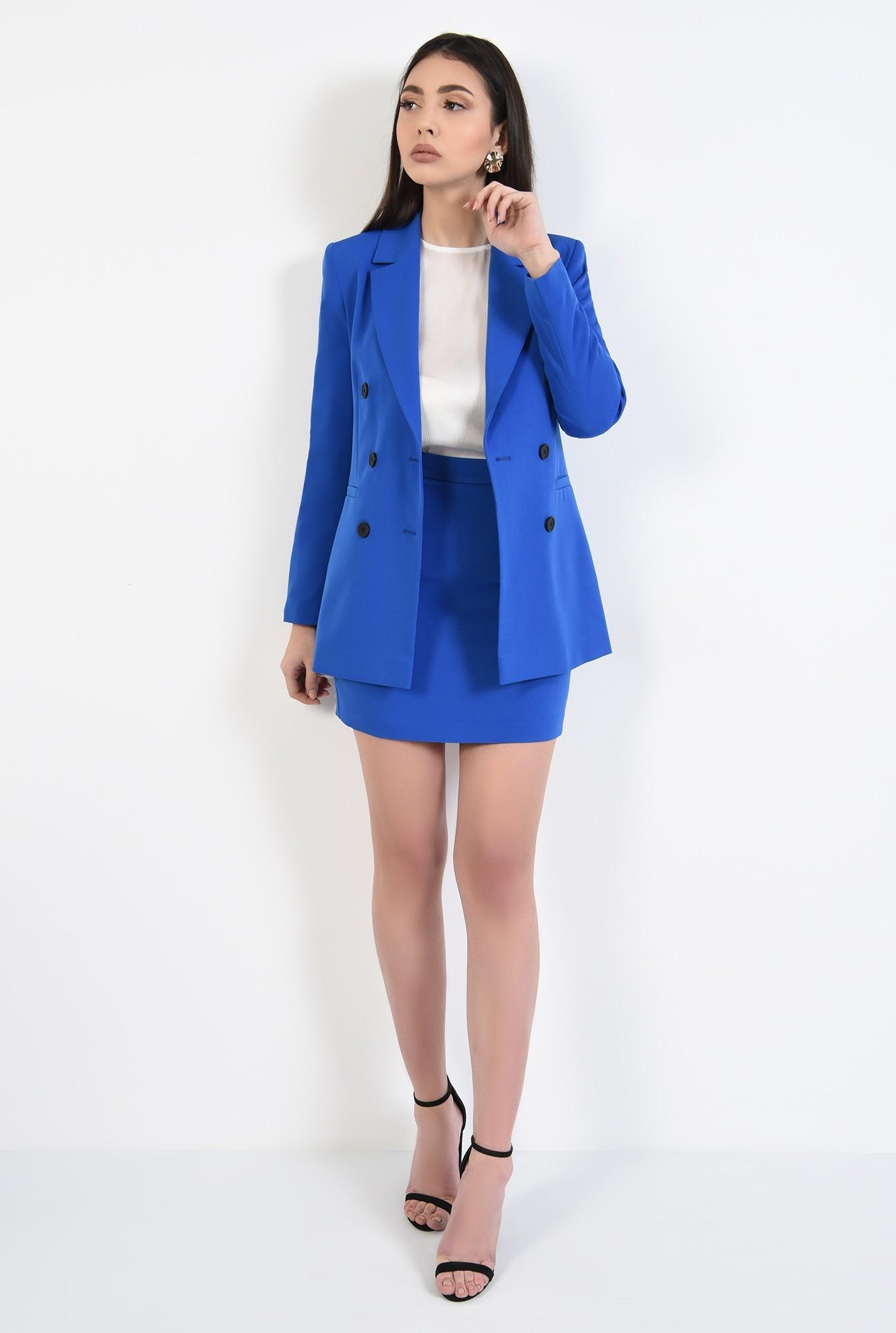 2 - fusta de zi, talie cu betelie, lungime mini, fuste online